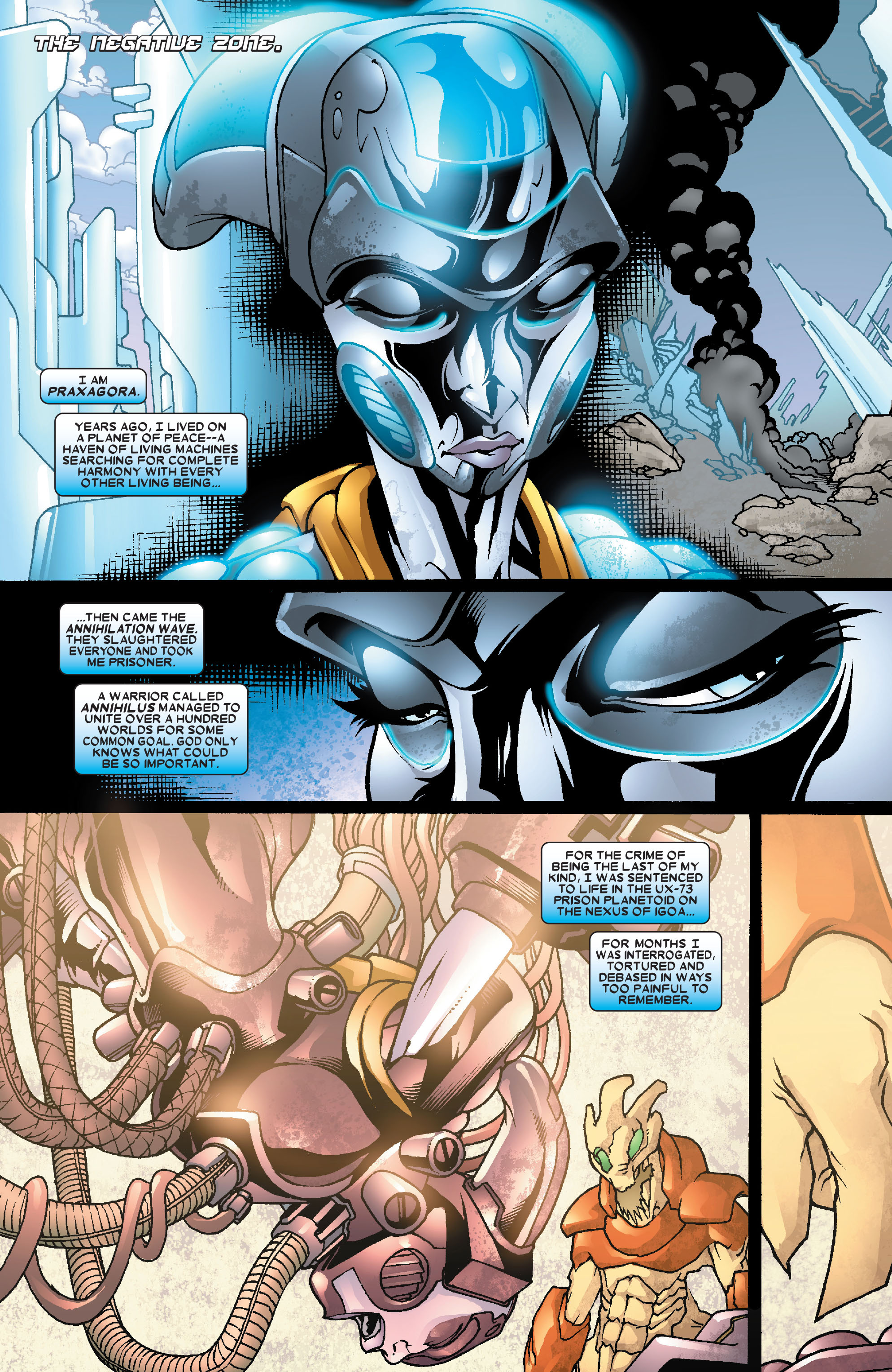 Read online Annihilation: Super-Skrull comic -  Issue #3 - 3