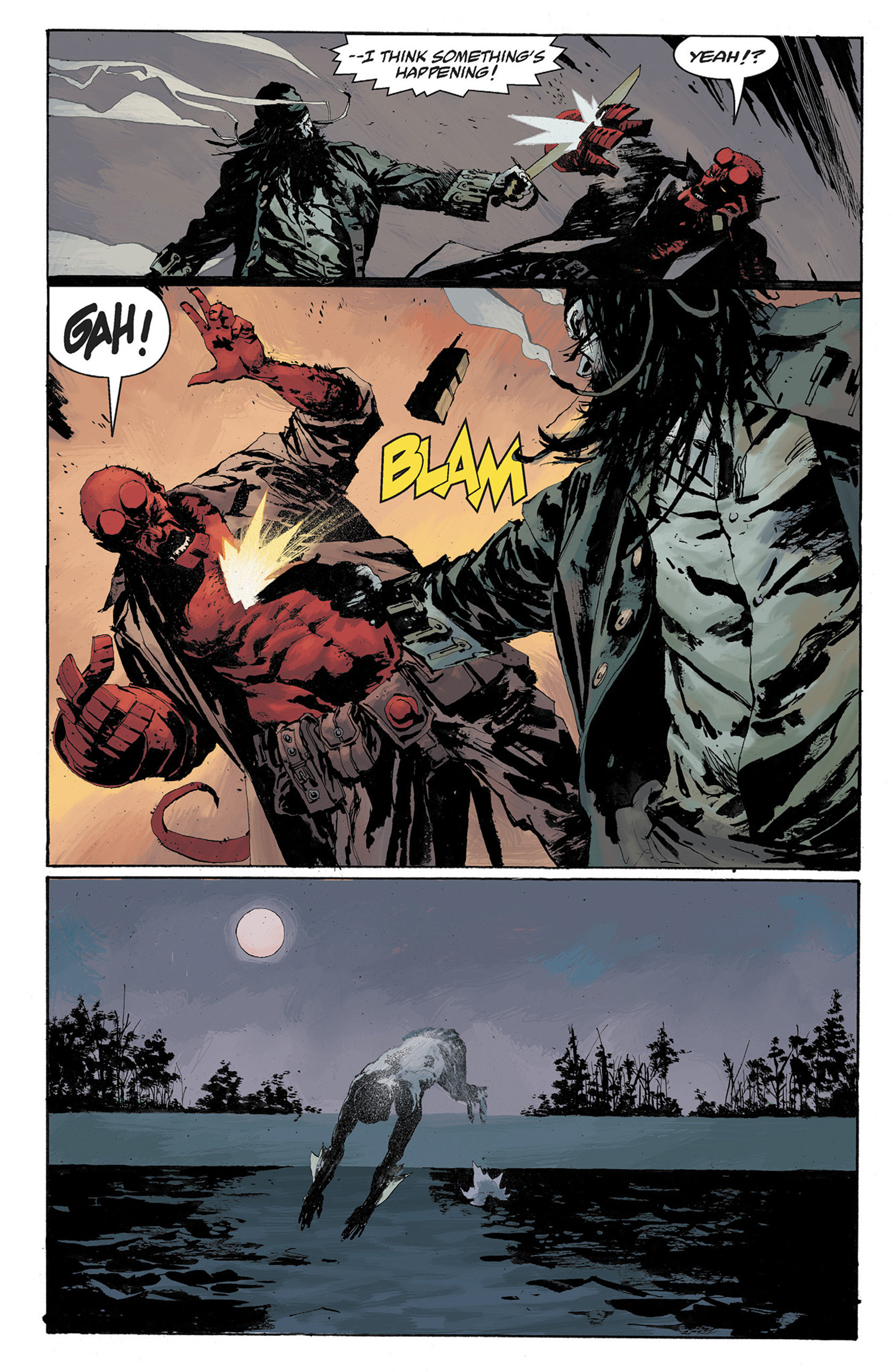 Read online Hellboy: The Crooked Man and Others comic -  Issue # TPB - 102
