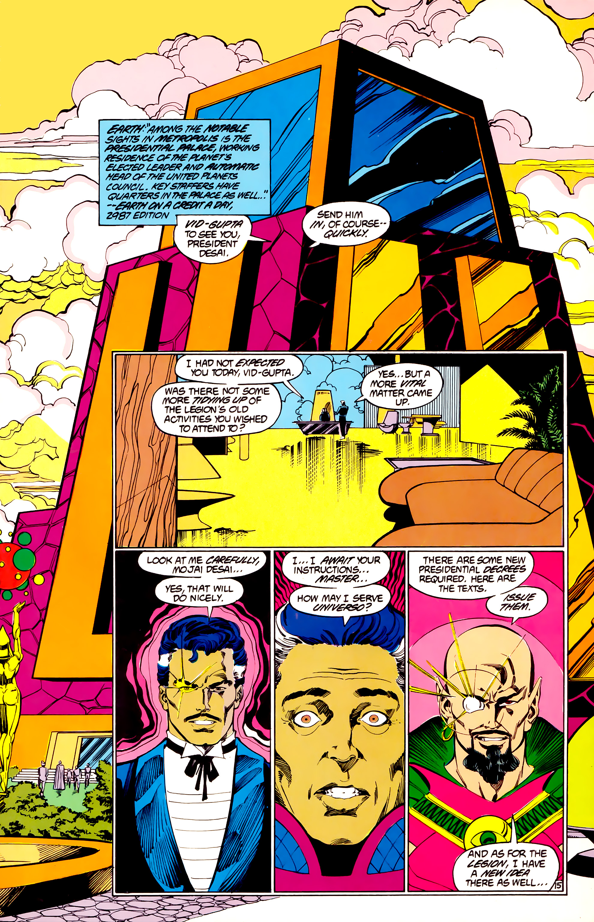 Legion of Super-Heroes (1984) 33 Page 15