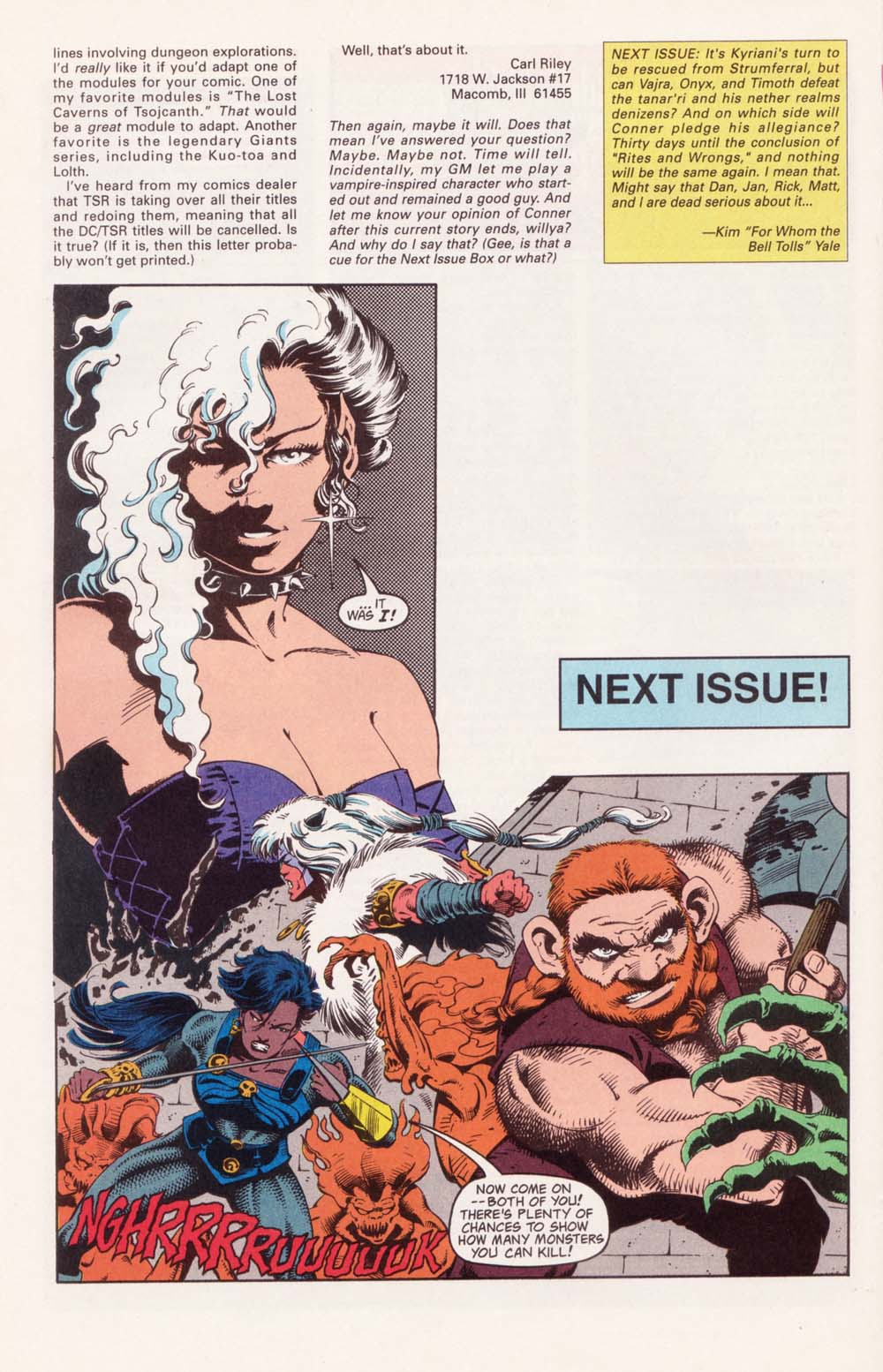Read online Advanced Dungeons & Dragons comic -  Issue #35 - 26