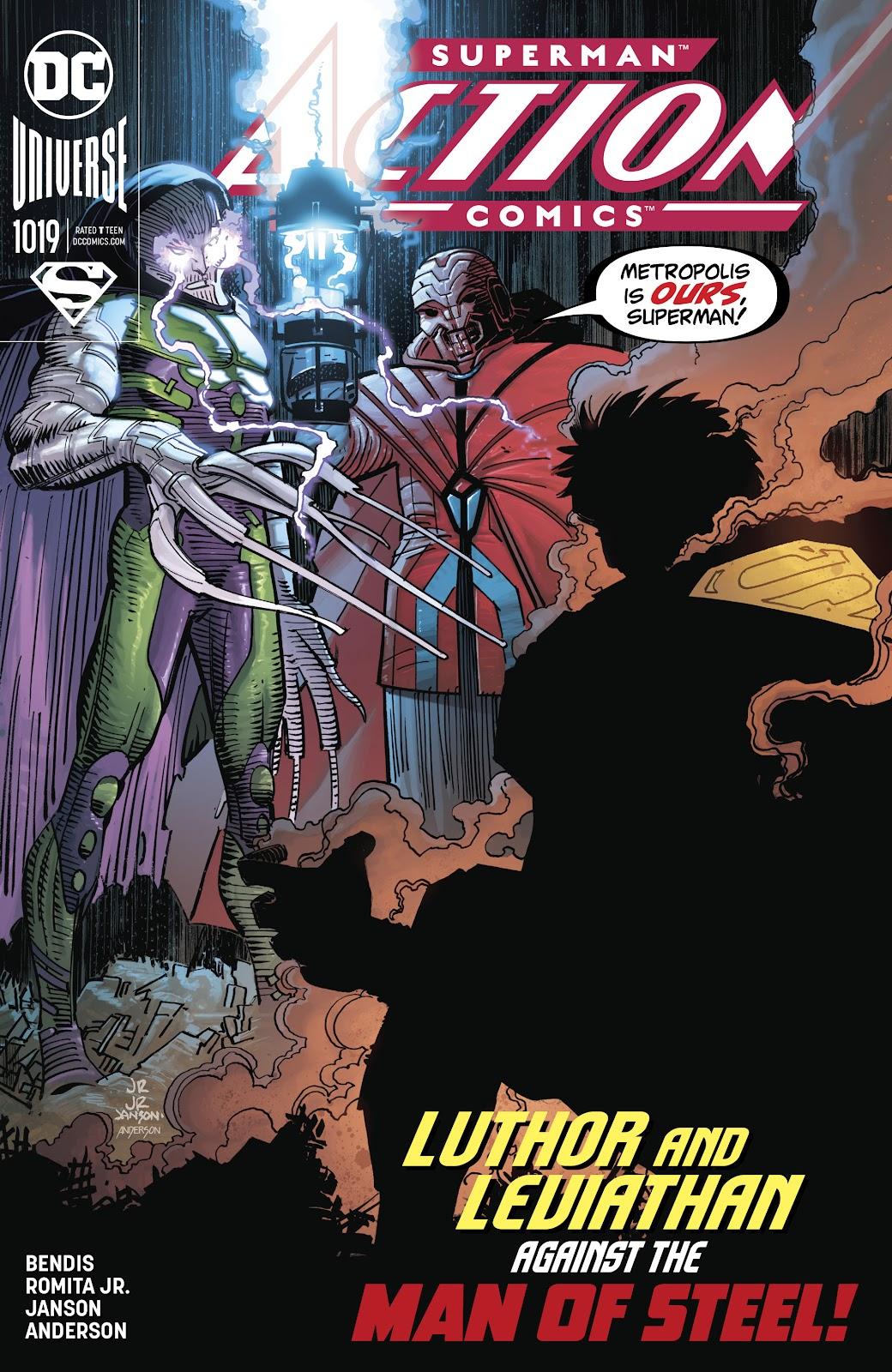 Action Comics (2016) 1019 Page 1