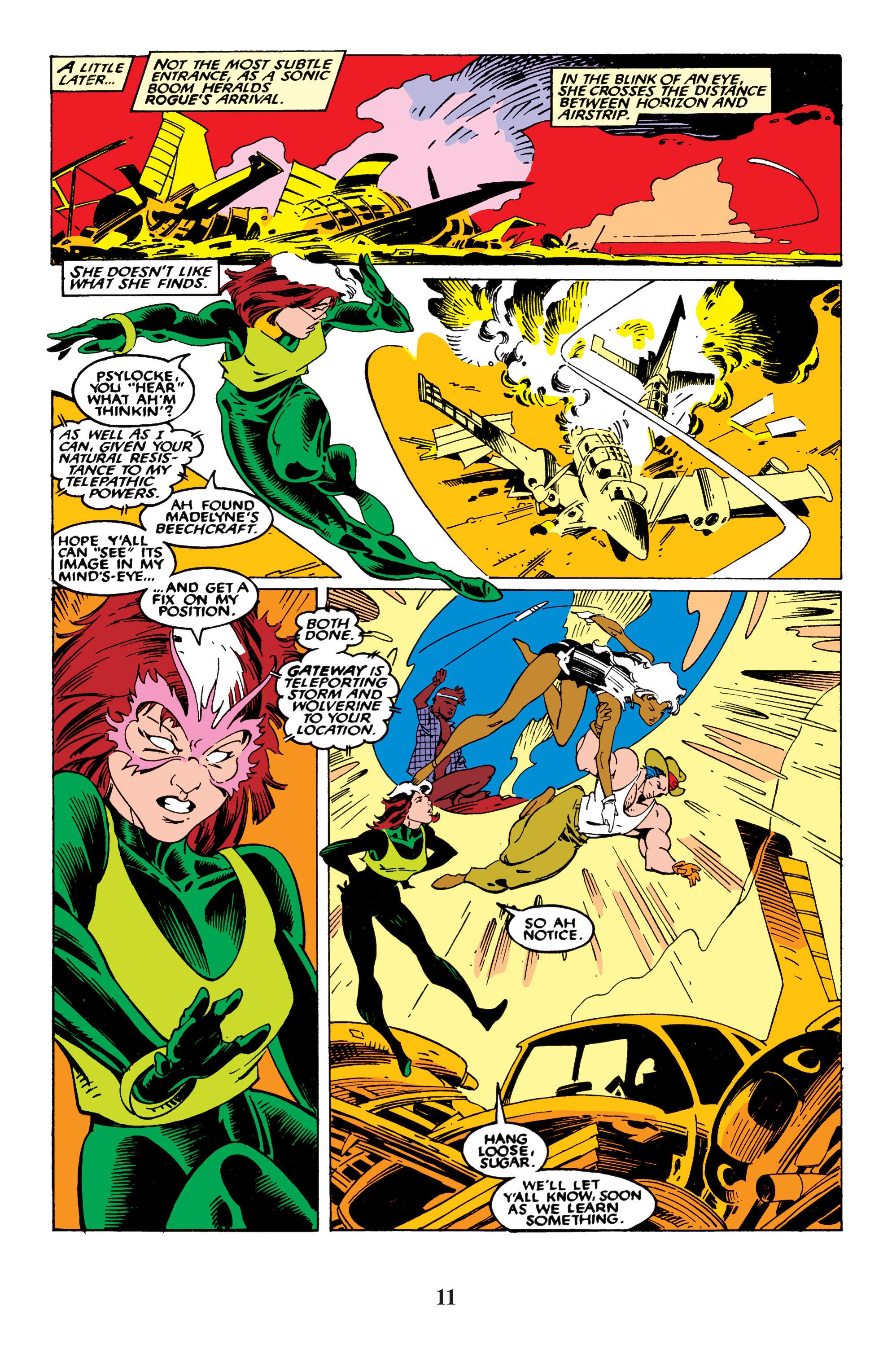 Read online Uncanny X-Men (1963) comic -  Issue #235 - 11