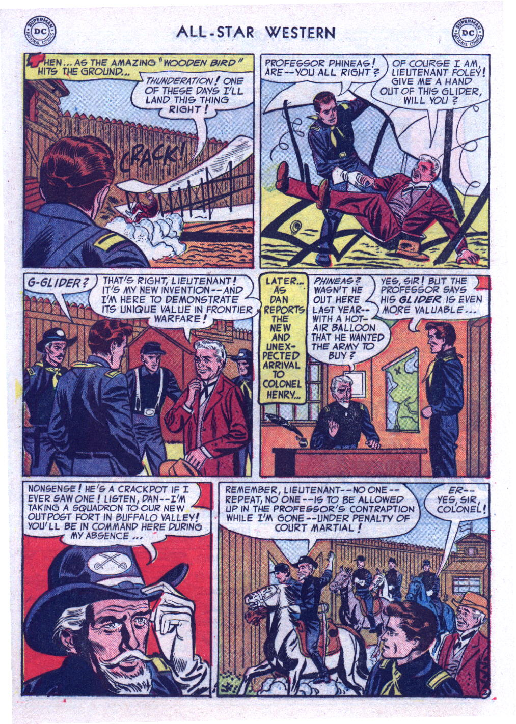 Read online All-Star Western (1951) comic -  Issue #74 - 20