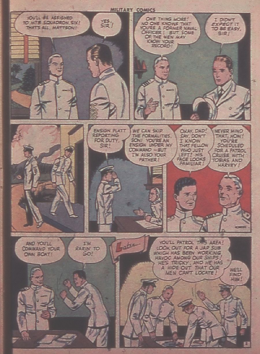 Military Comics issue 31 - Page 43