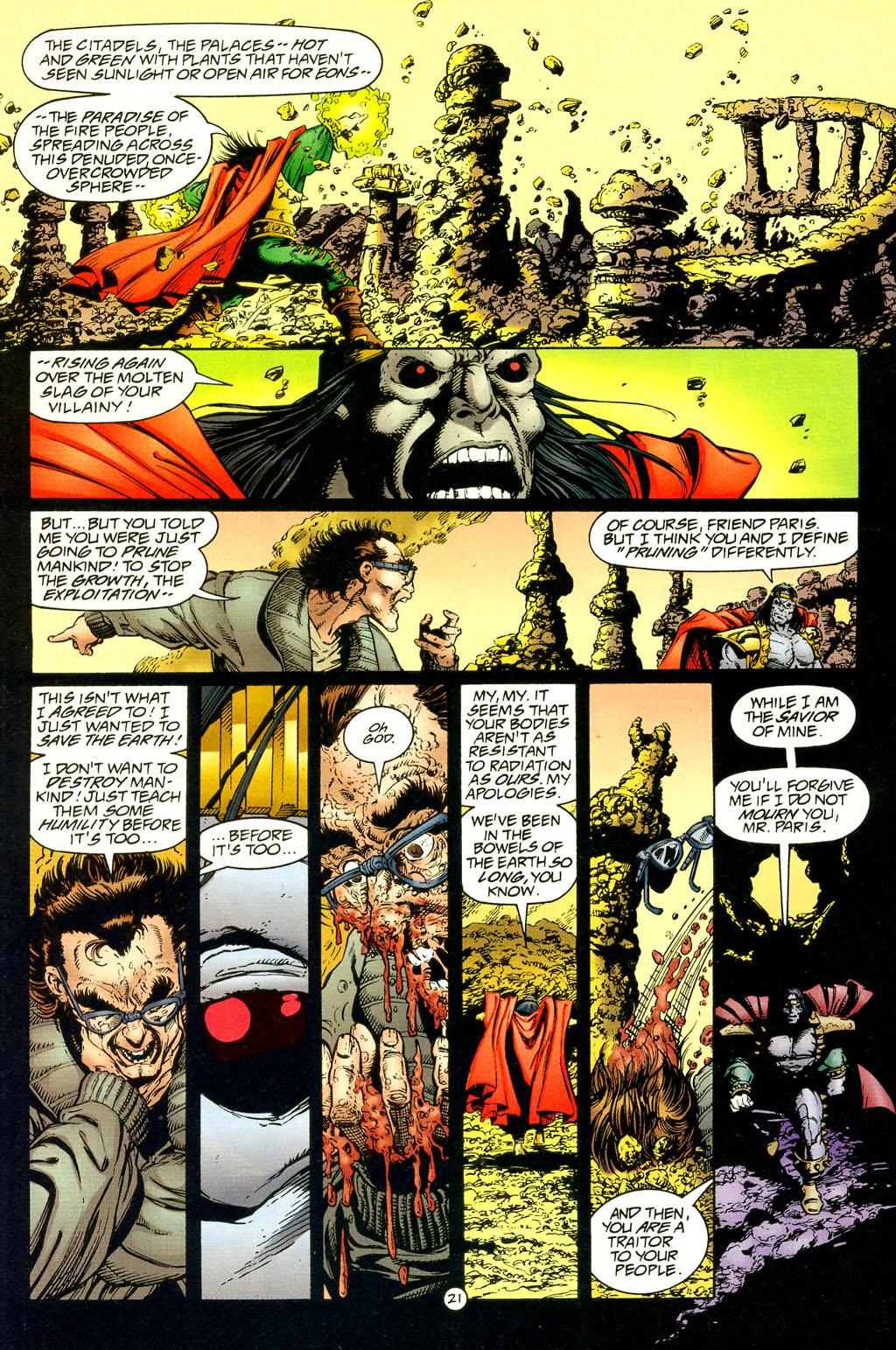 Read online UltraForce (1994) comic -  Issue #4 - 21