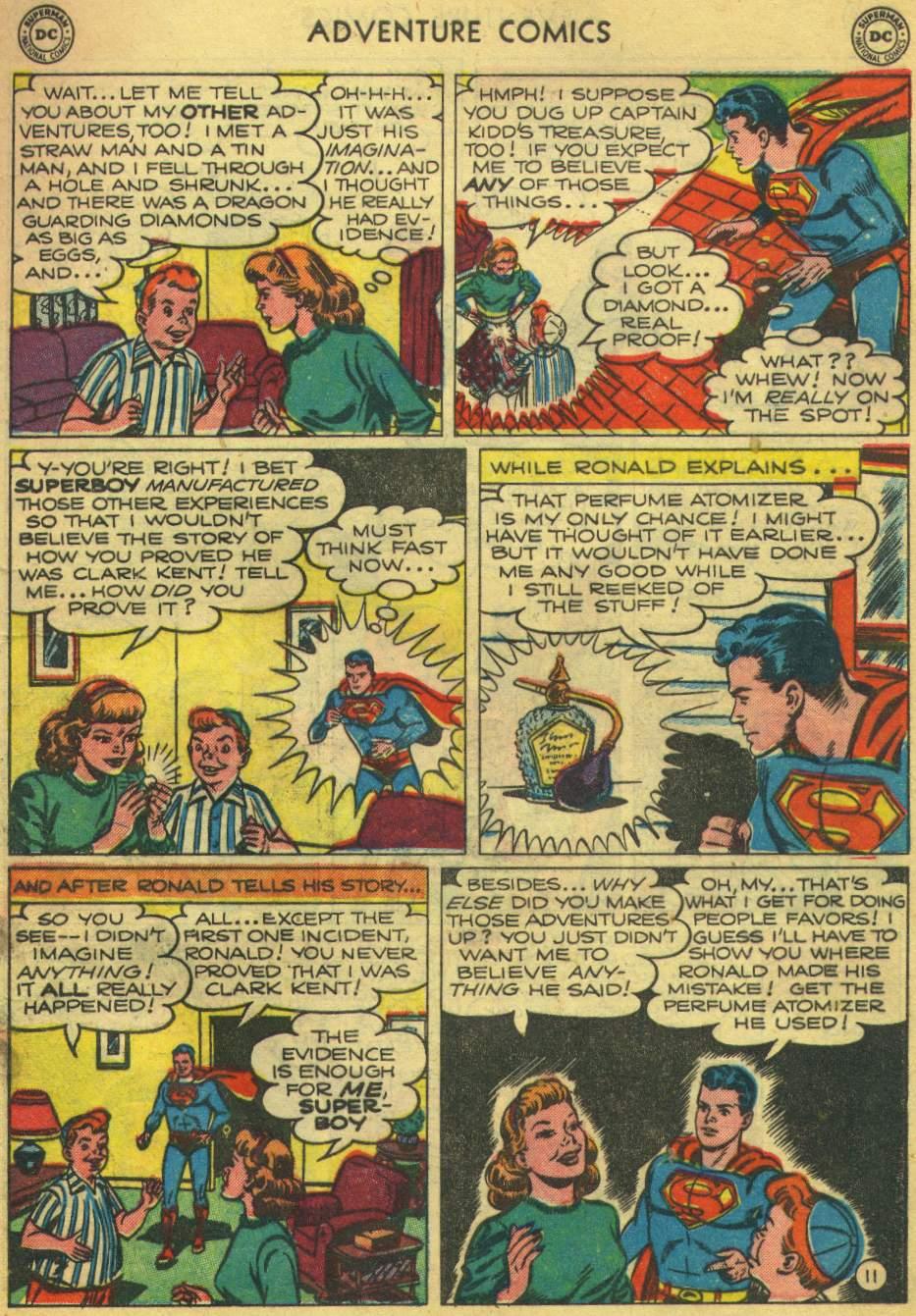 Read online Adventure Comics (1938) comic -  Issue #168 - 13