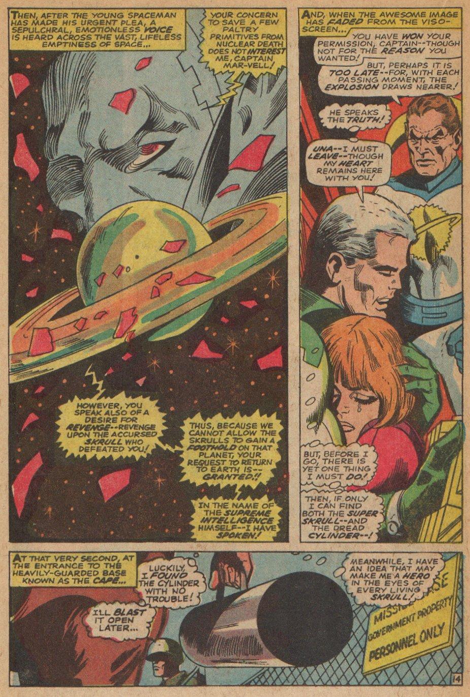 Captain Marvel (1968) Issue #3 #3 - English 15