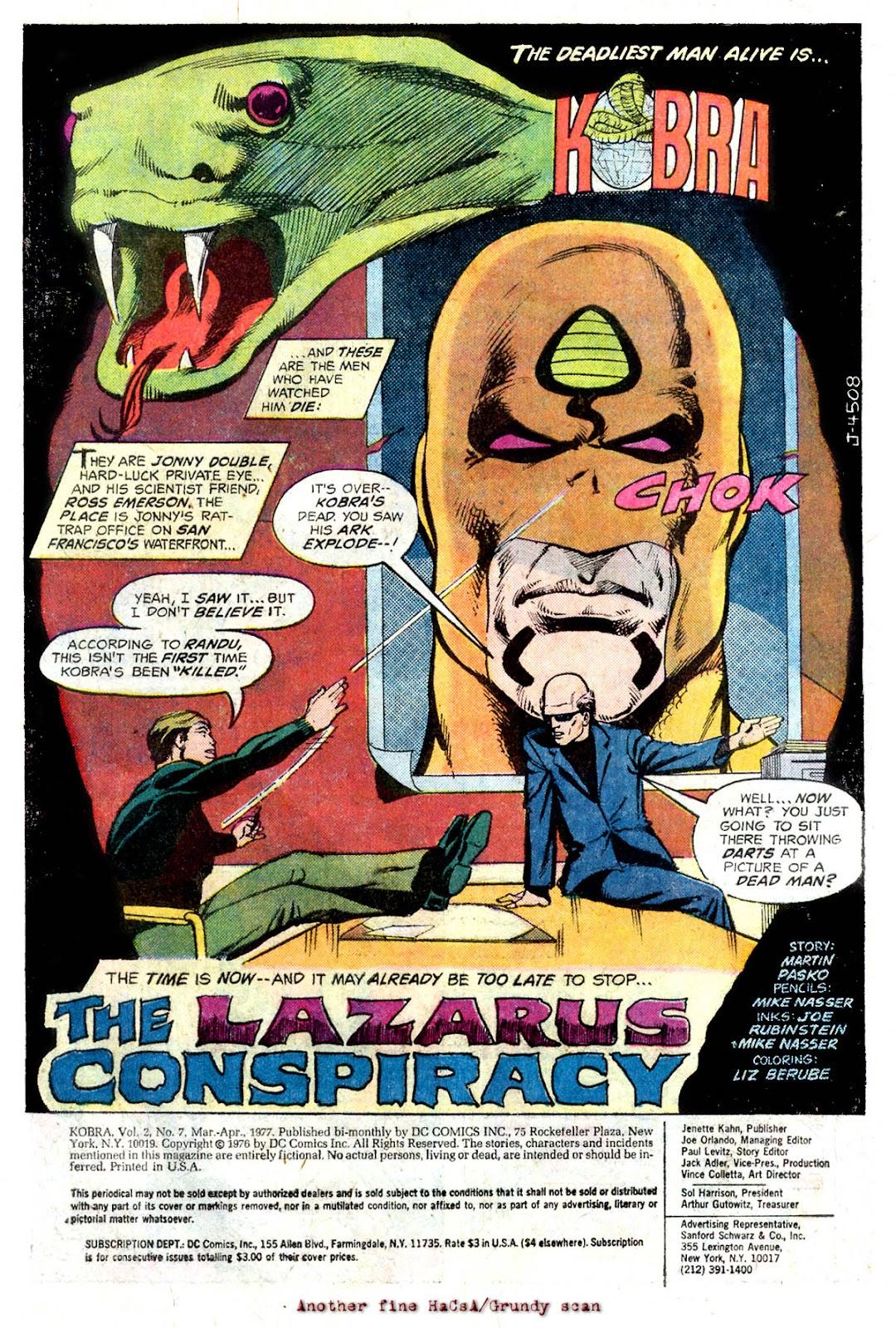 Comic Kobra issue 7