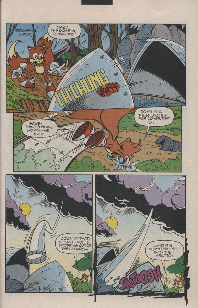 Read online Sonic Quest - The Death Egg Saga comic -  Issue #1 - 21