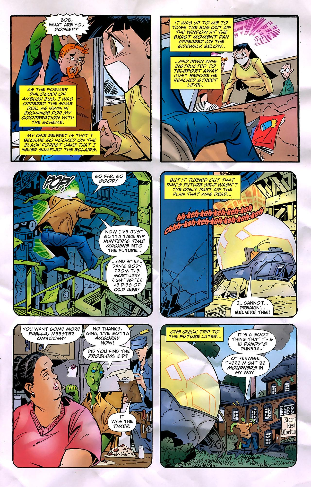 Read online Ambush Bug: Year None comic -  Issue #7 - 12