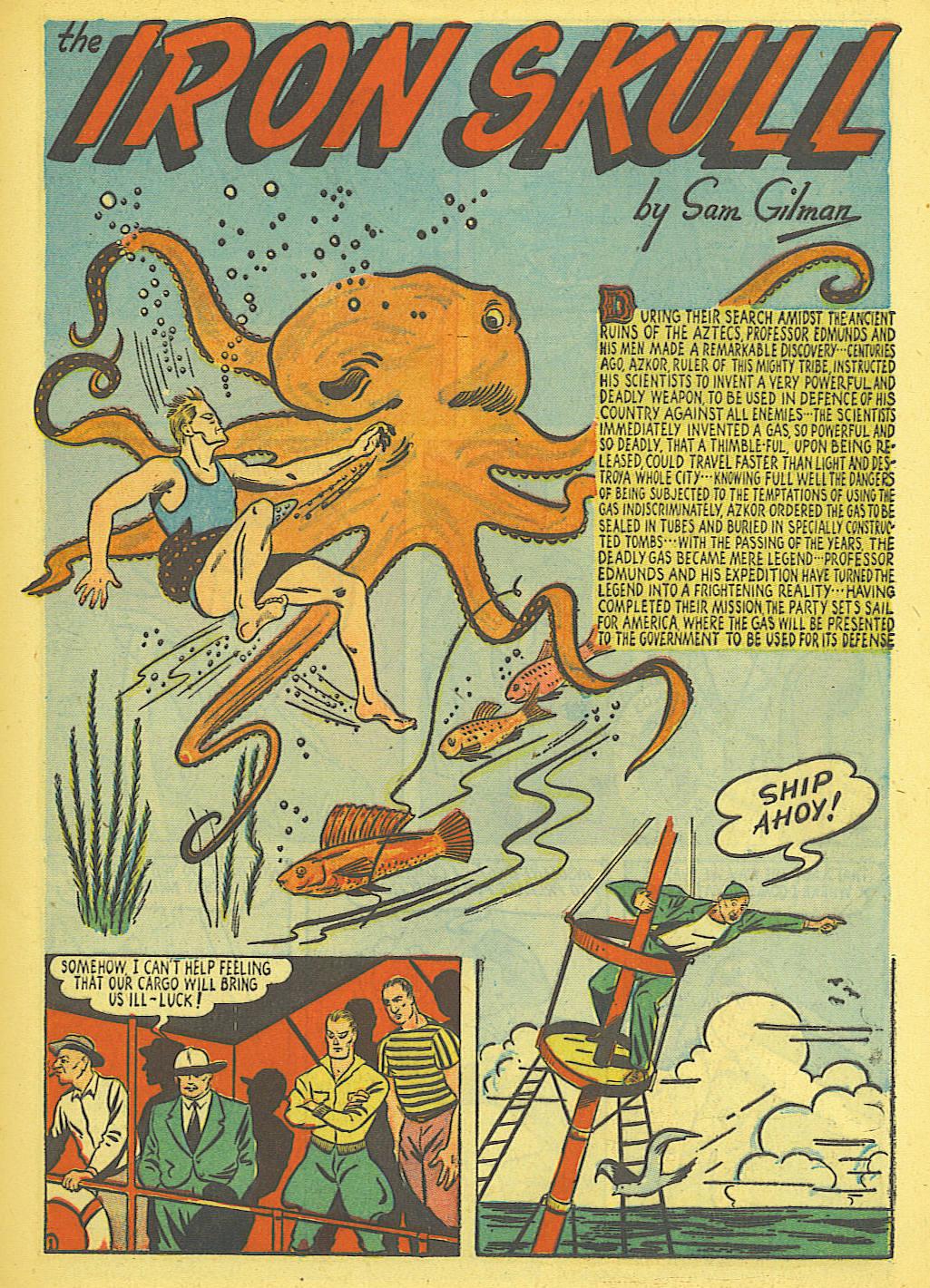 Read online Amazing Man Comics comic -  Issue #19 - 15
