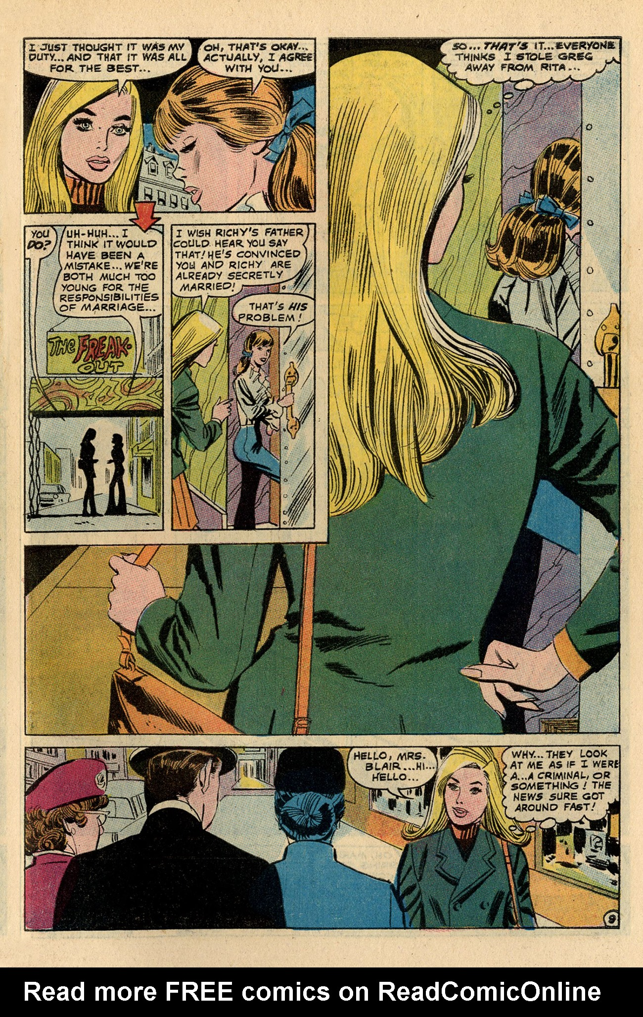 Read online Secret Hearts comic -  Issue #137 - 27