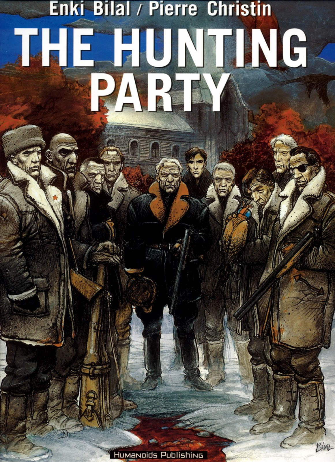 The Hunting Party TPB Page 1