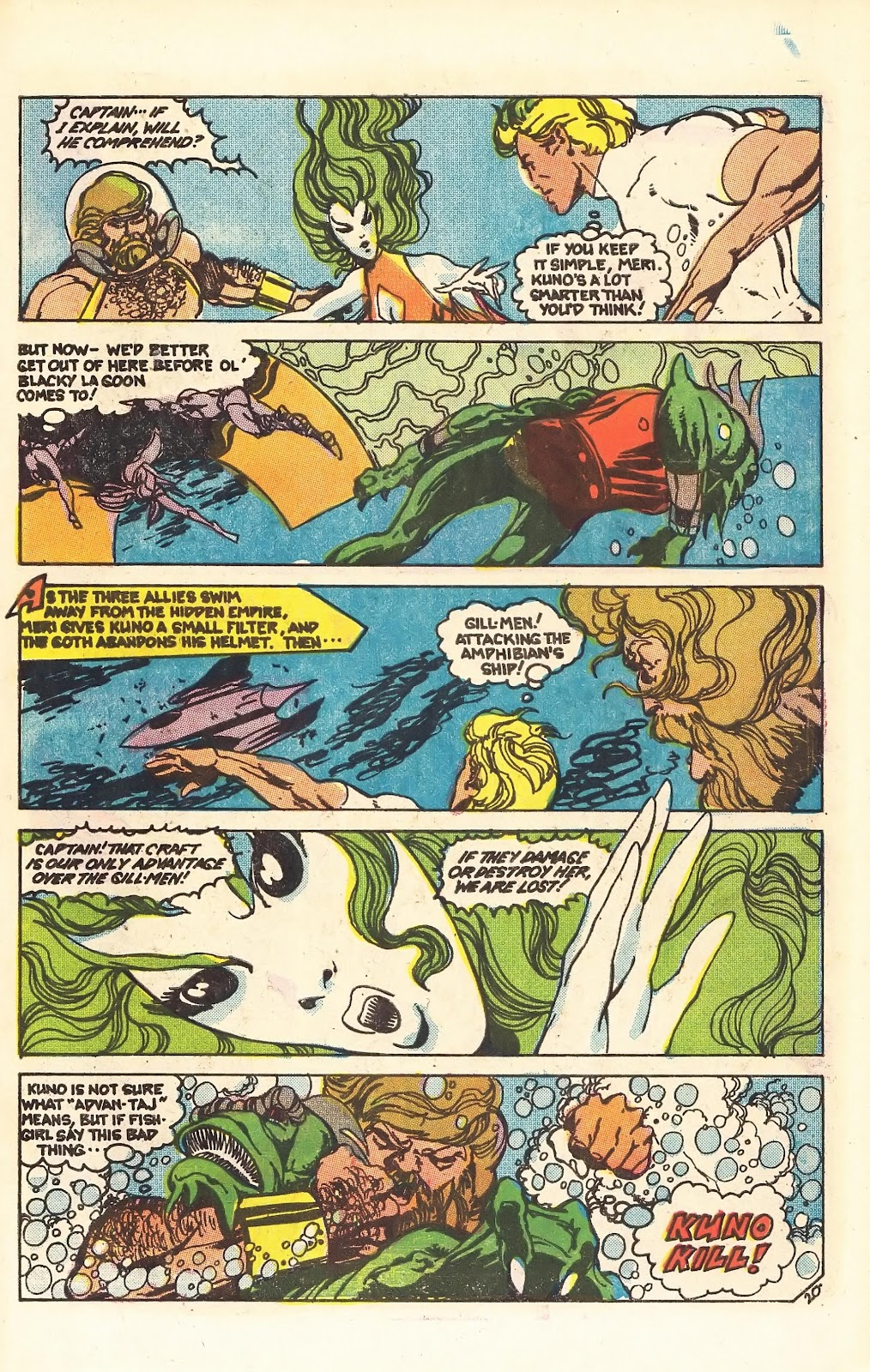 Read online Doomsday   1 (1975) comic -  Issue #4 - 26