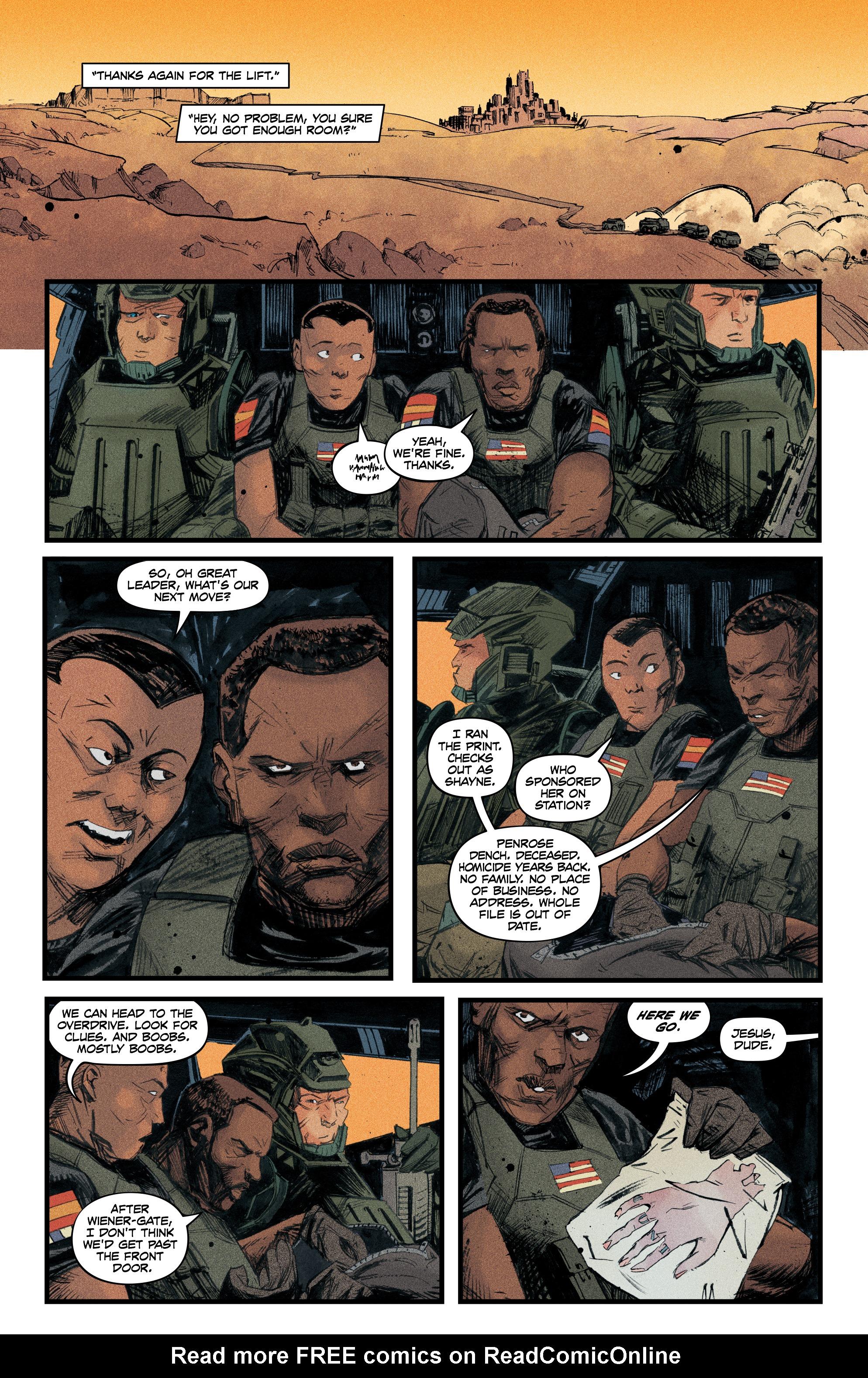 Read online Redline comic -  Issue #4 - 14