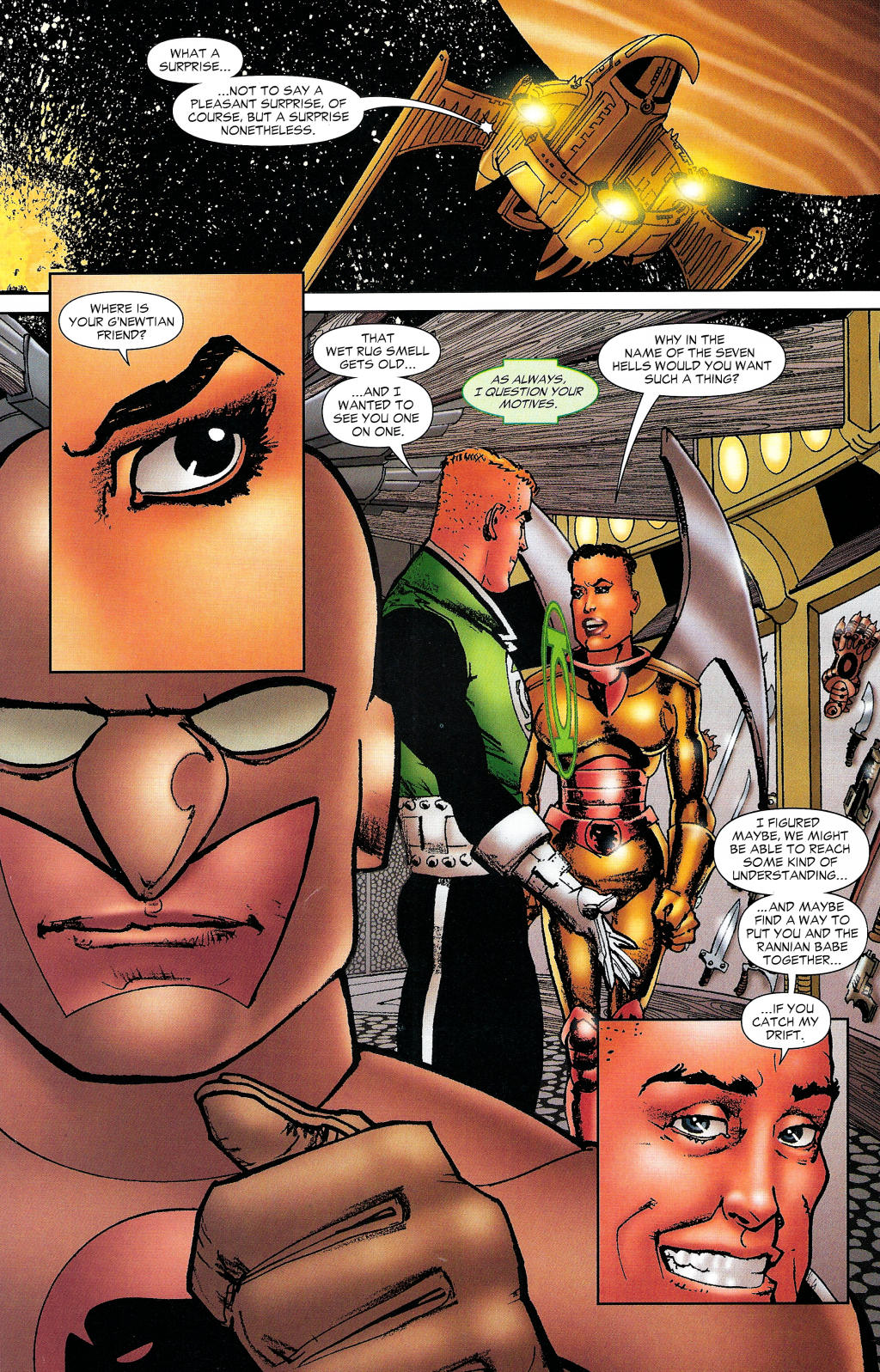 Read online Guy Gardner: Collateral Damage comic -  Issue #1 - 31