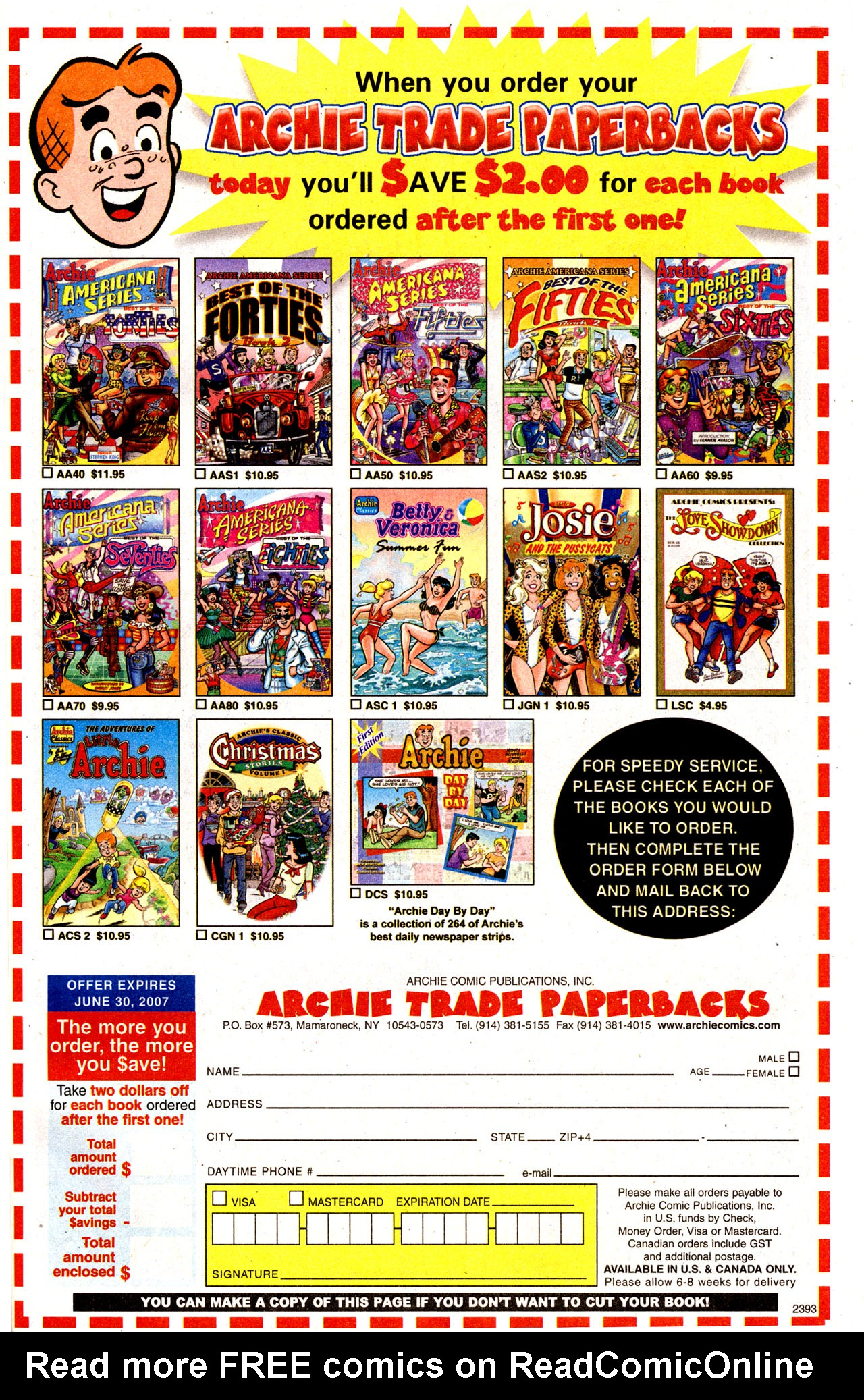 Read online Archie (1960) comic -  Issue #574 - 38