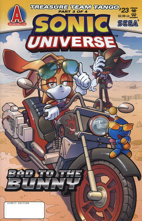 Read online Sonic Universe comic -  Issue #23 - 1