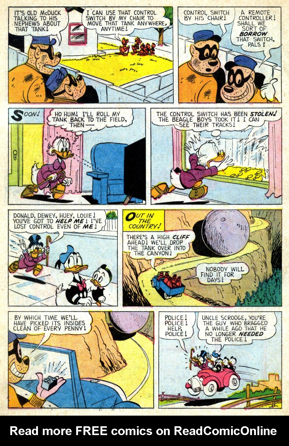 Read online Uncle Scrooge (1953) comic -  Issue #39 - 31
