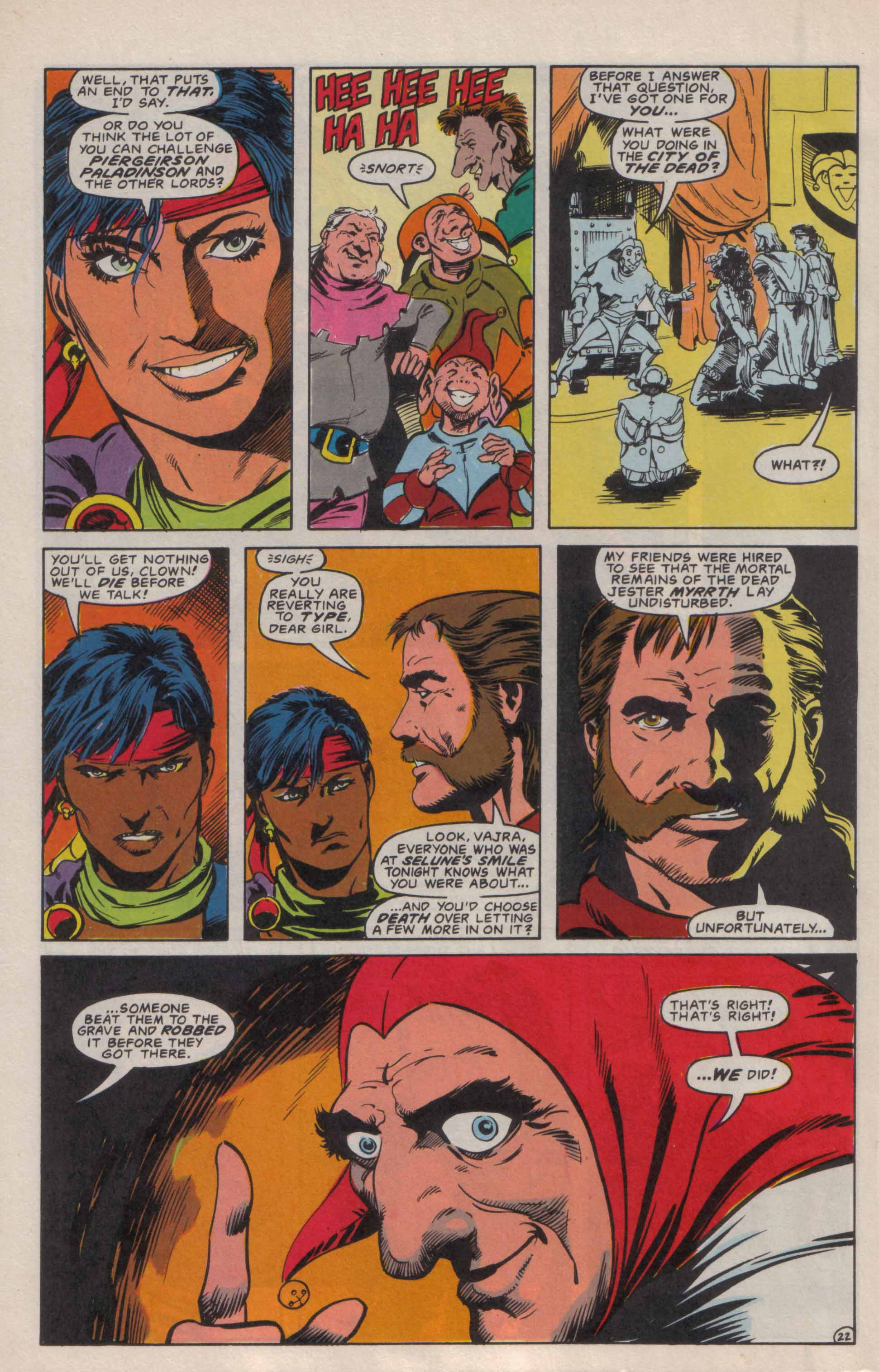 Read online Advanced Dungeons & Dragons comic -  Issue #6 - 23