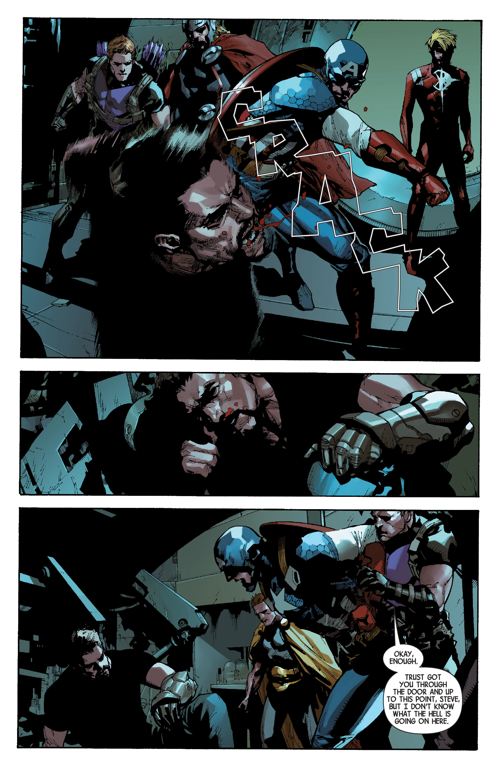 Read online Avengers (2013) comic -  Issue #29 - 21
