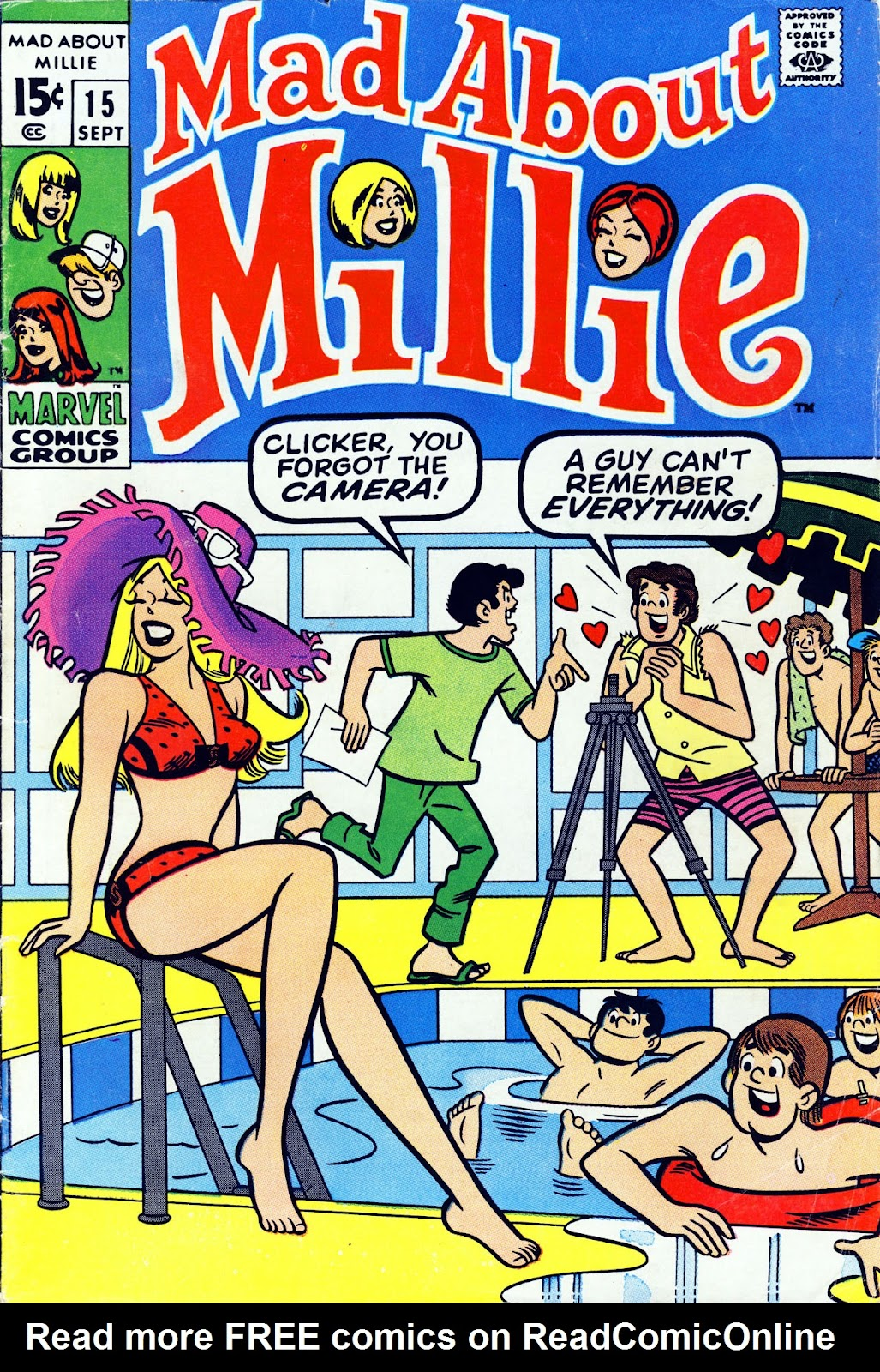 Mad About Millie issue 15 - Page 1