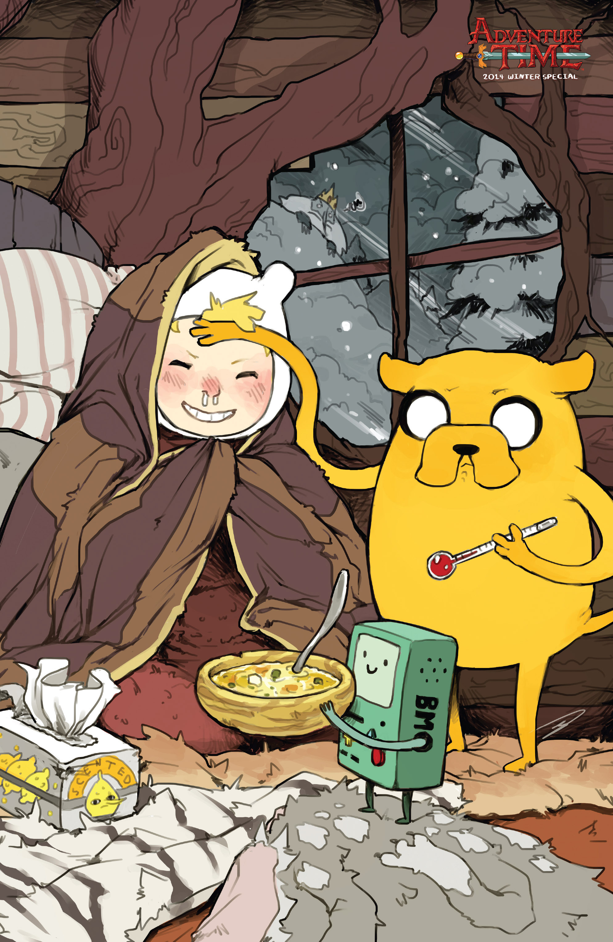 Read online Adventure Time 2014 Winter Special comic -  Issue #Adventure Time 2014 Winter Special Full - 2