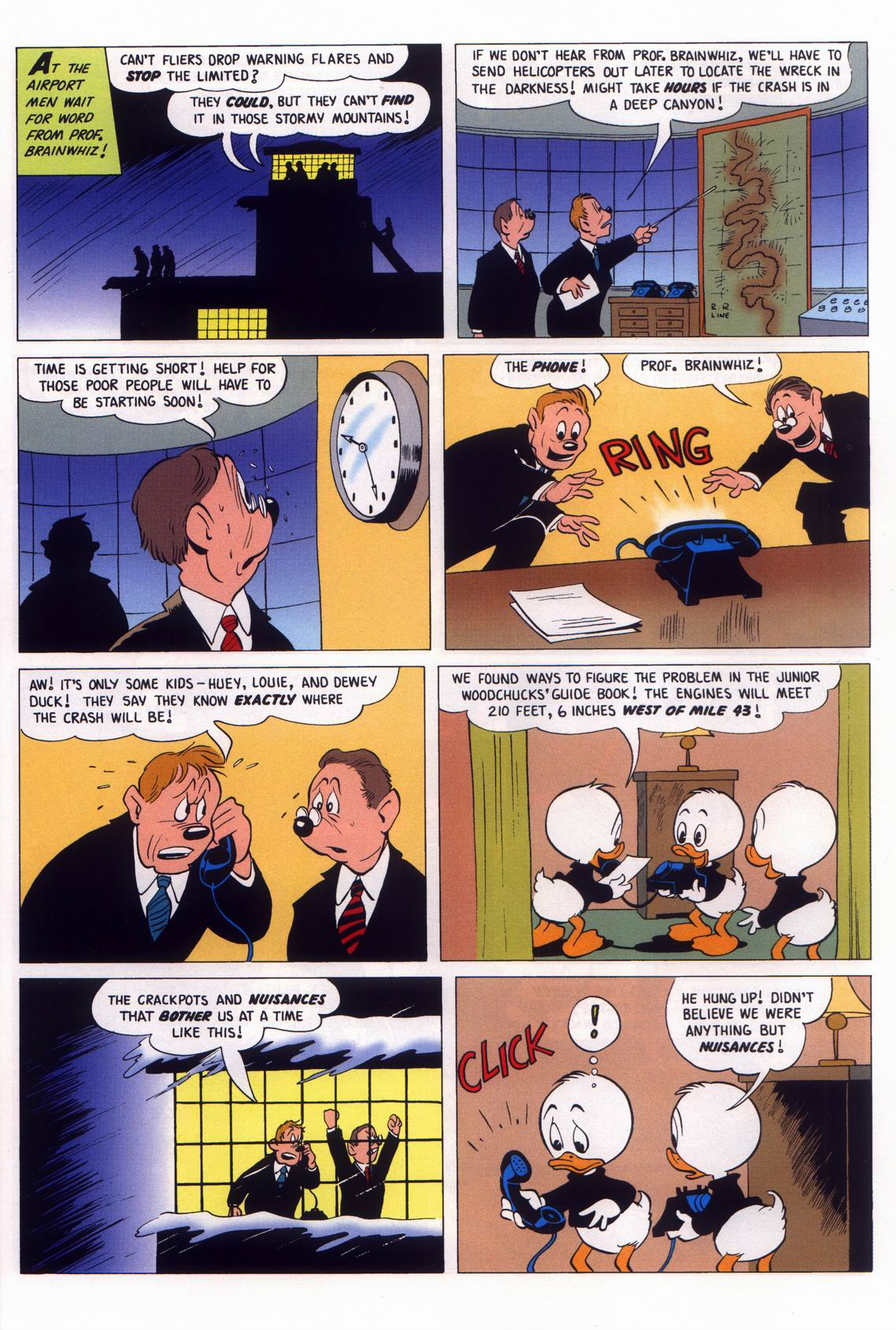 Read online Uncle Scrooge (1953) comic -  Issue #316 - 31