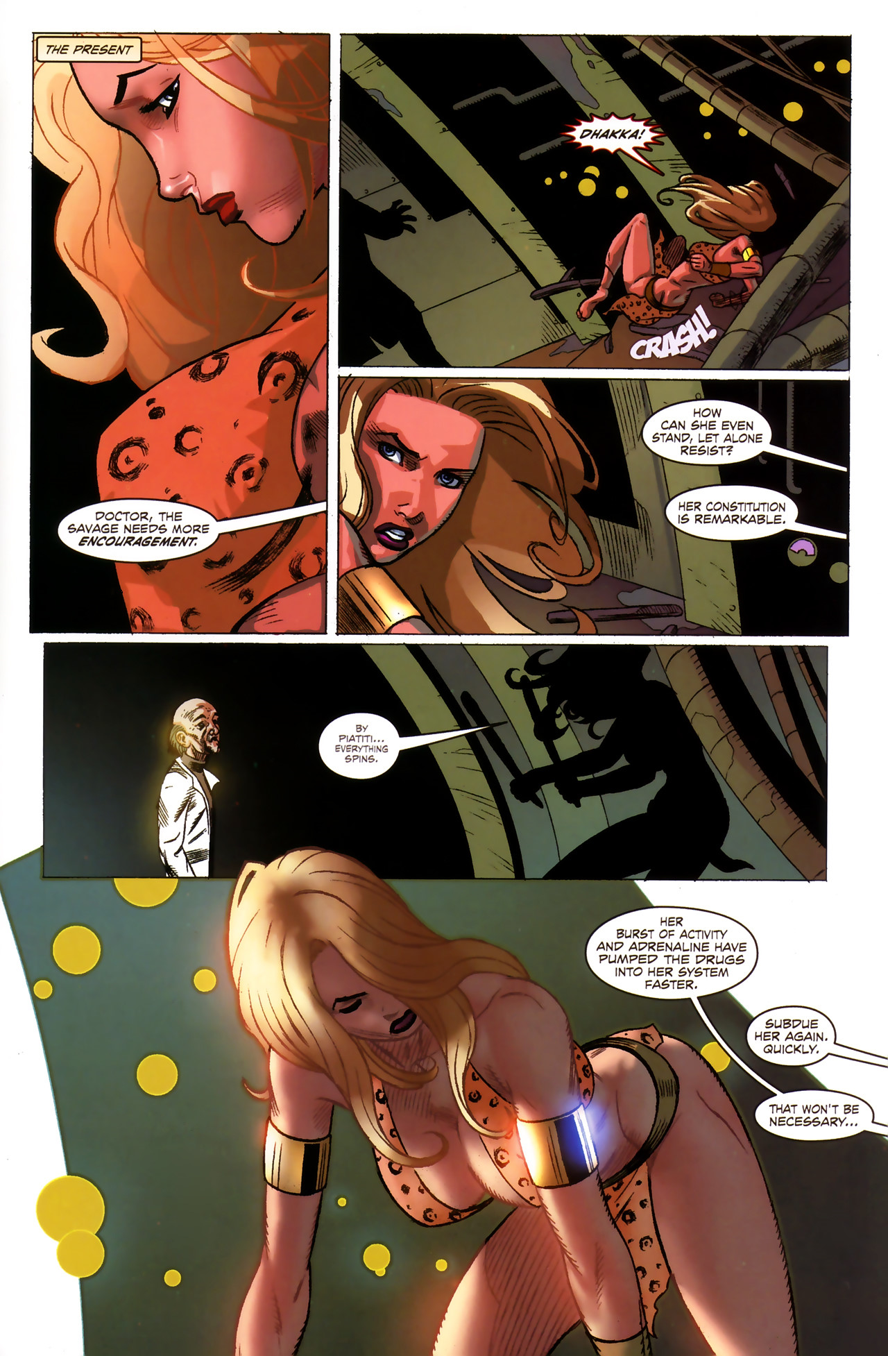 Read online Sheena Queen of the Jungle: Dark Rising comic -  Issue #1 - 23
