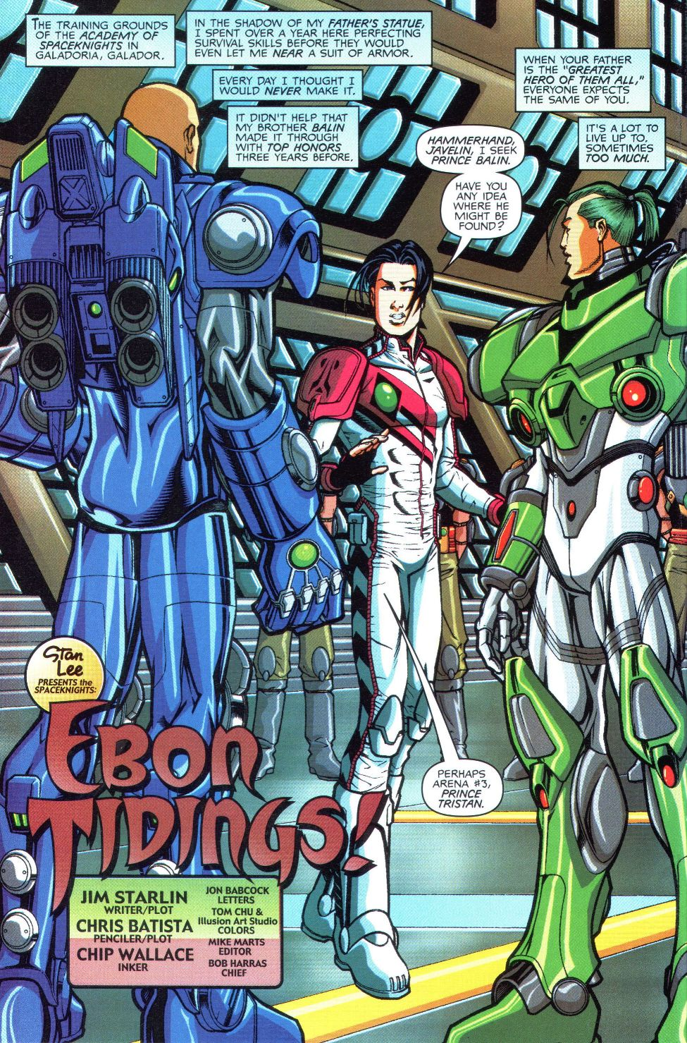 Read online Spaceknights (2000) comic -  Issue #1 - 8