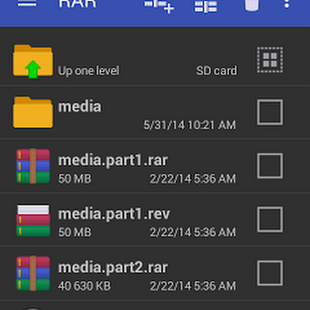 RAR De Rarlab Programa De Compresion Para Android