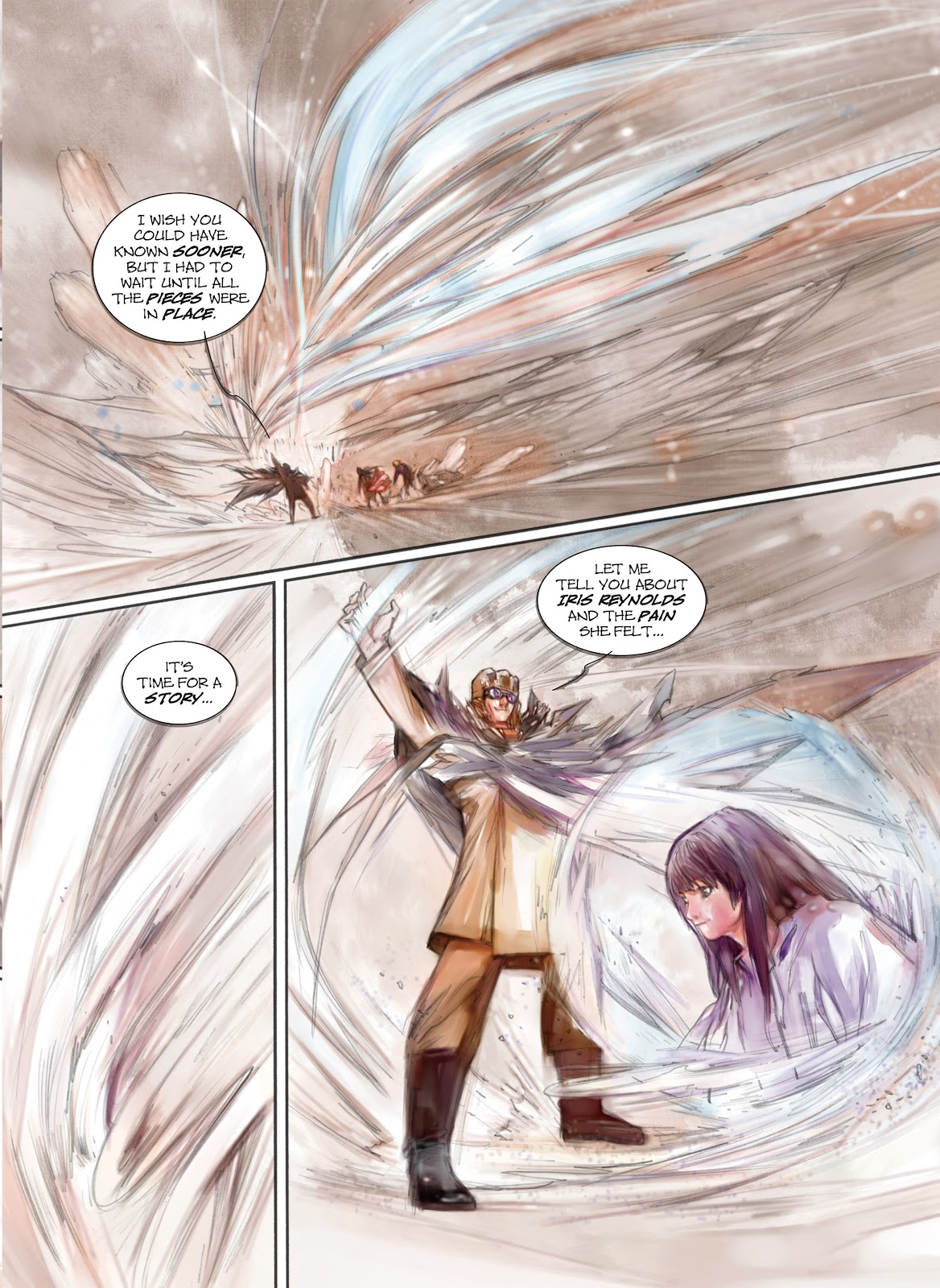 Read online Makeshift Miracle: The Girl From Nowhere comic -  Issue #12 - 7