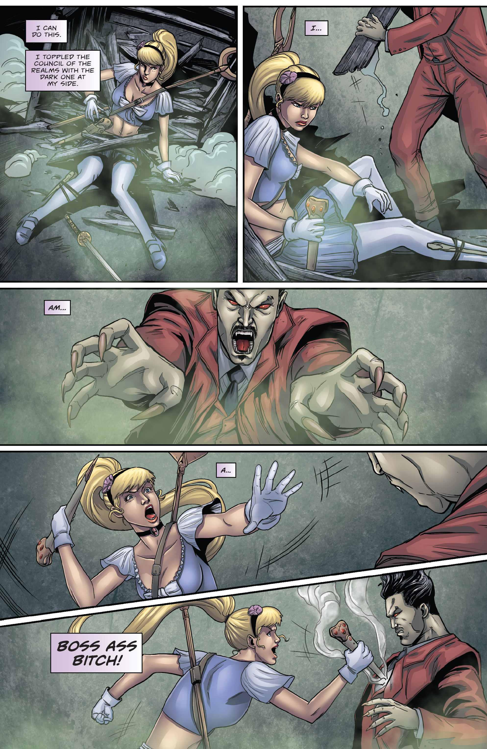 Read online Grimm Fairy Tales presents Cinderella: Age of Darkness comic -  Issue #2 - 13