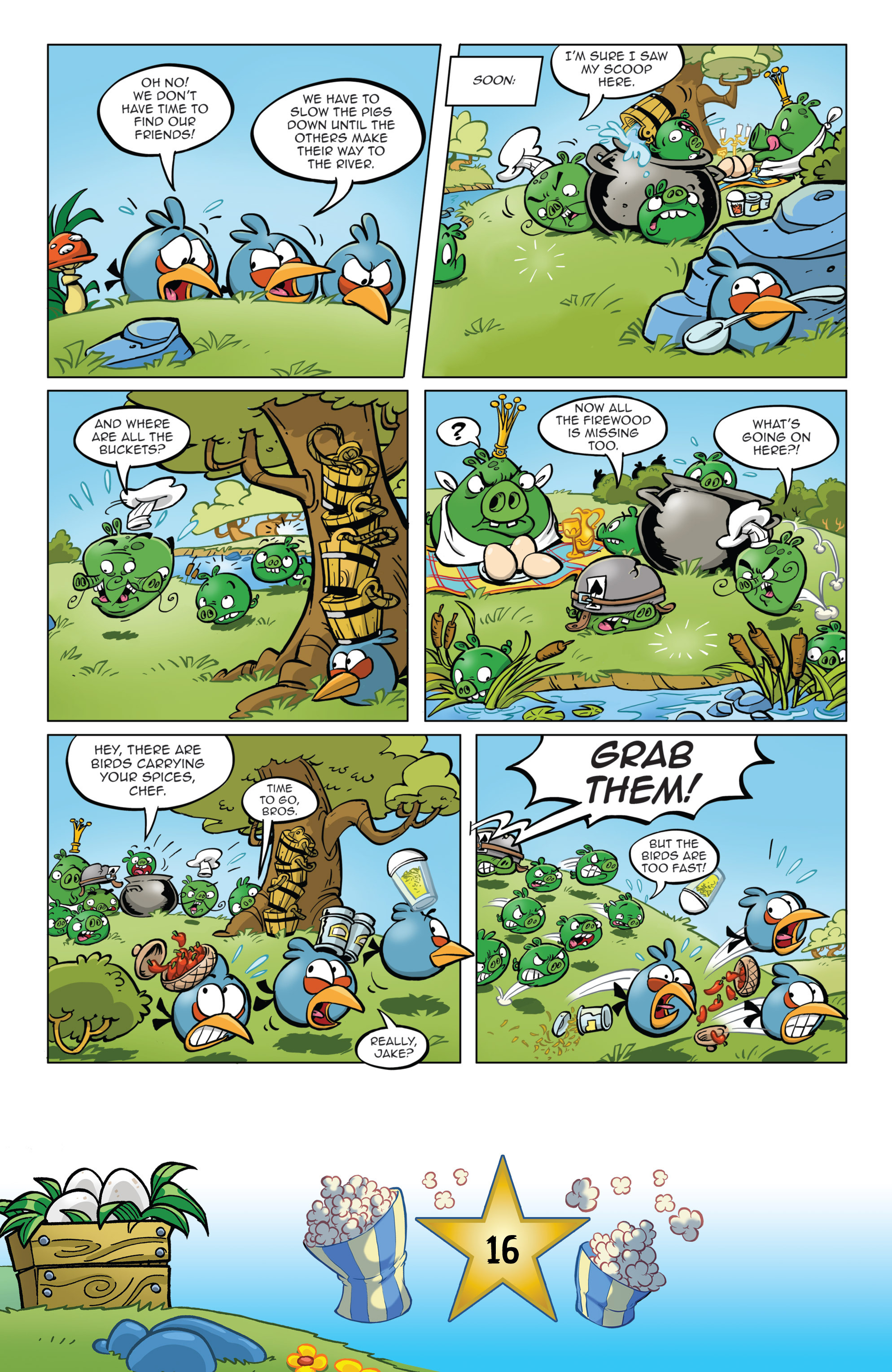 Read online Angry Birds Comics (2016) comic -  Issue #5 - 18