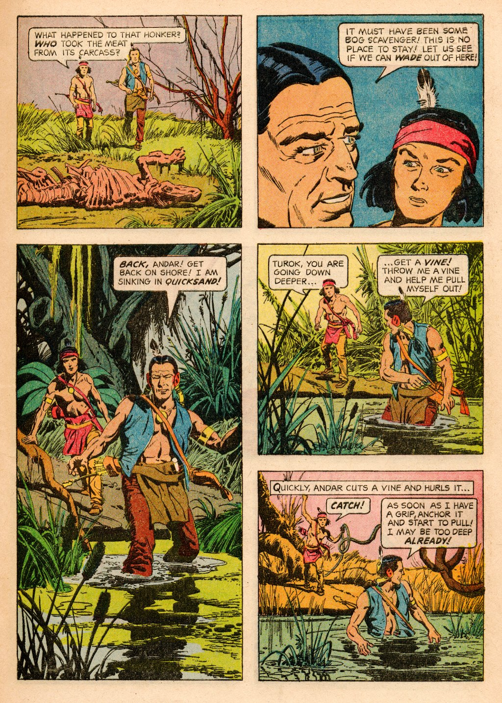 Read online Turok, Son of Stone comic -  Issue #33 - 9