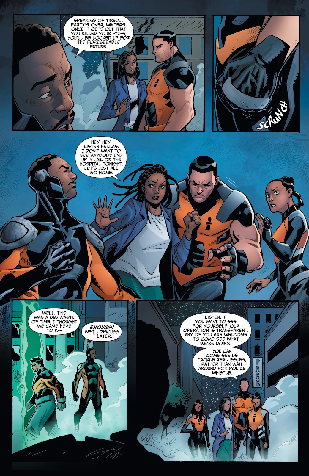 Read online Incidentals comic -  Issue #16 - 9