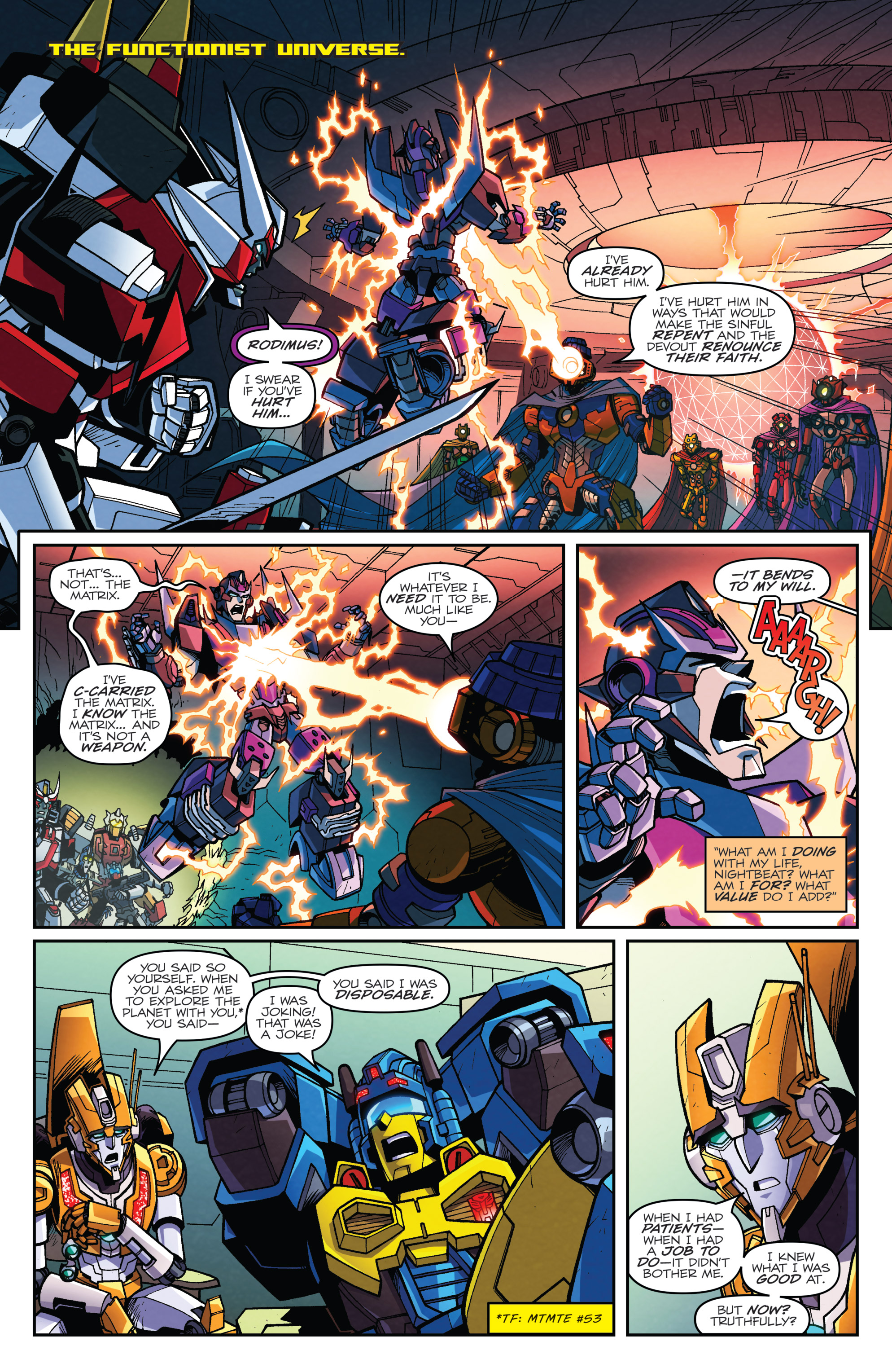 Read online Transformers: Lost Light comic -  Issue #5 - 4