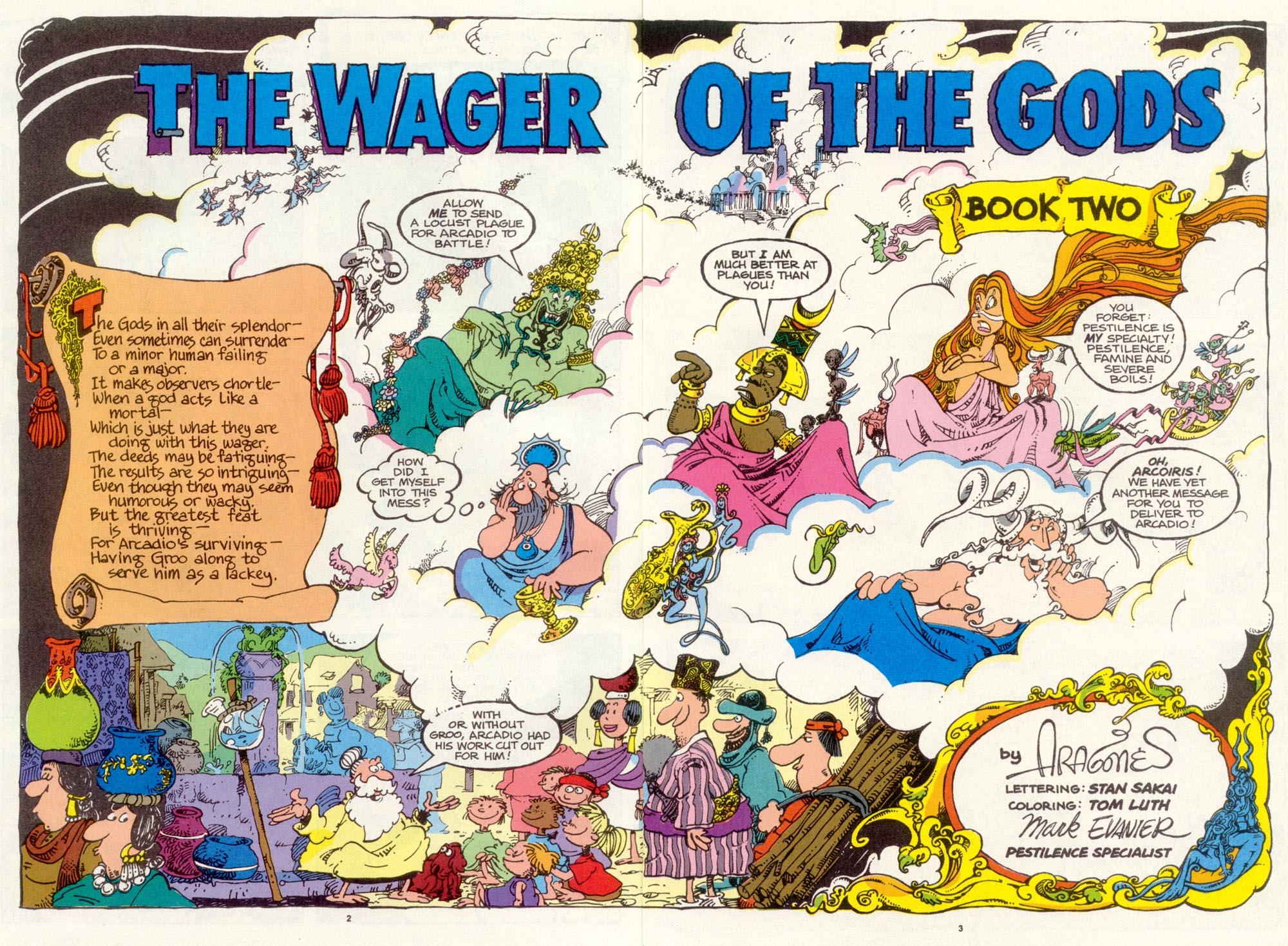 Read online Sergio Aragonés Groo the Wanderer comic -  Issue #97 - 4