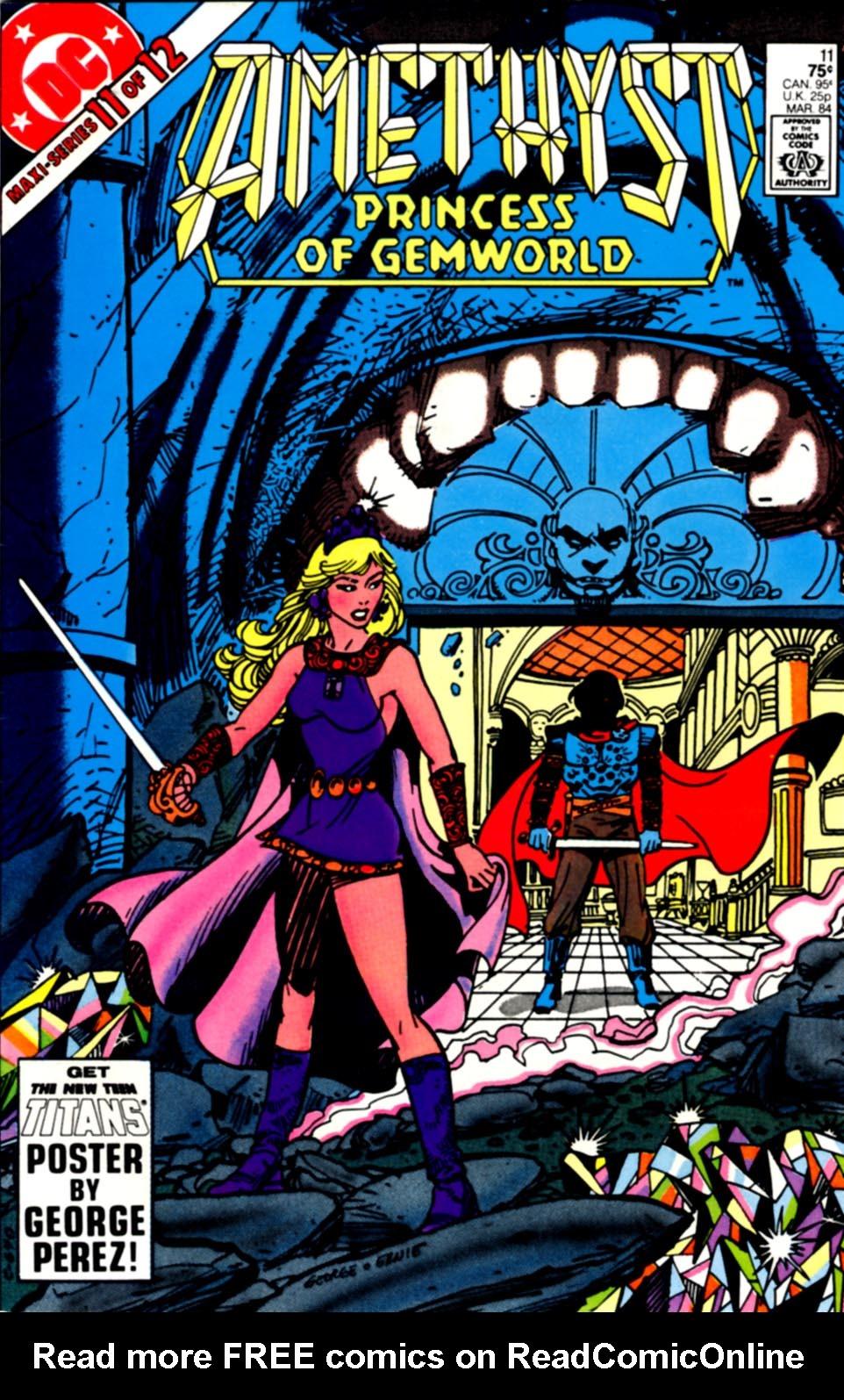 Read online Amethyst, Princess of Gemworld comic -  Issue #11 - 1