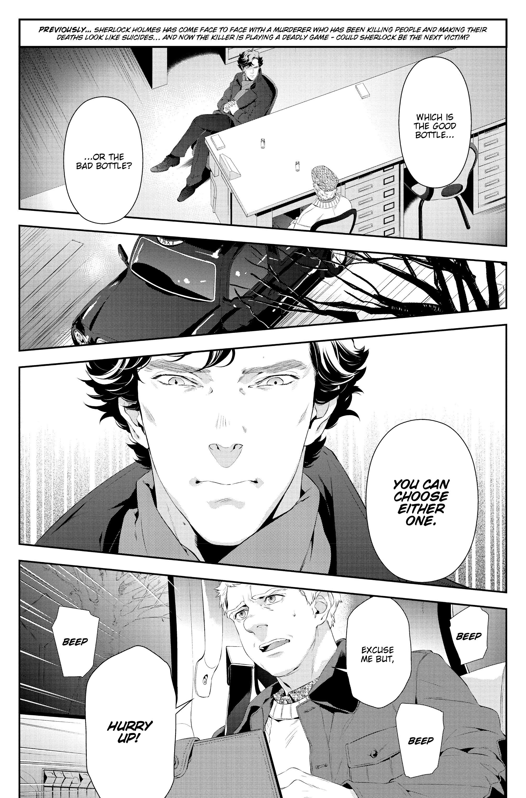 Read online Sherlock: A Study In Pink comic -  Issue #6 - 5