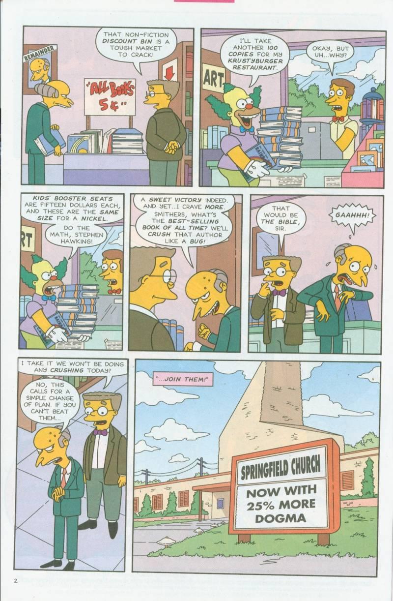Read online Simpsons Comics comic -  Issue #69 - 3