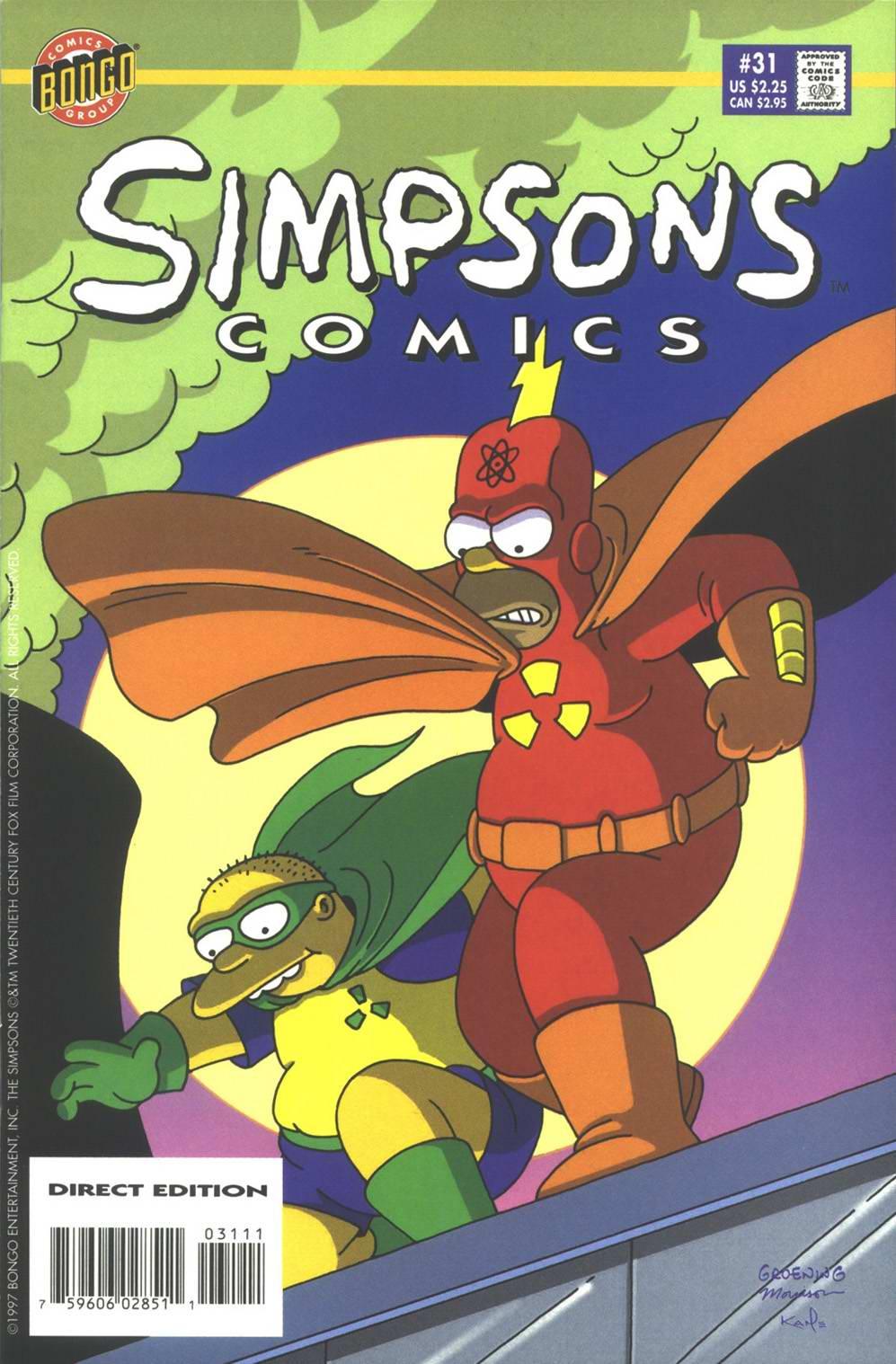 Read online Simpsons Comics comic -  Issue #31 - 1