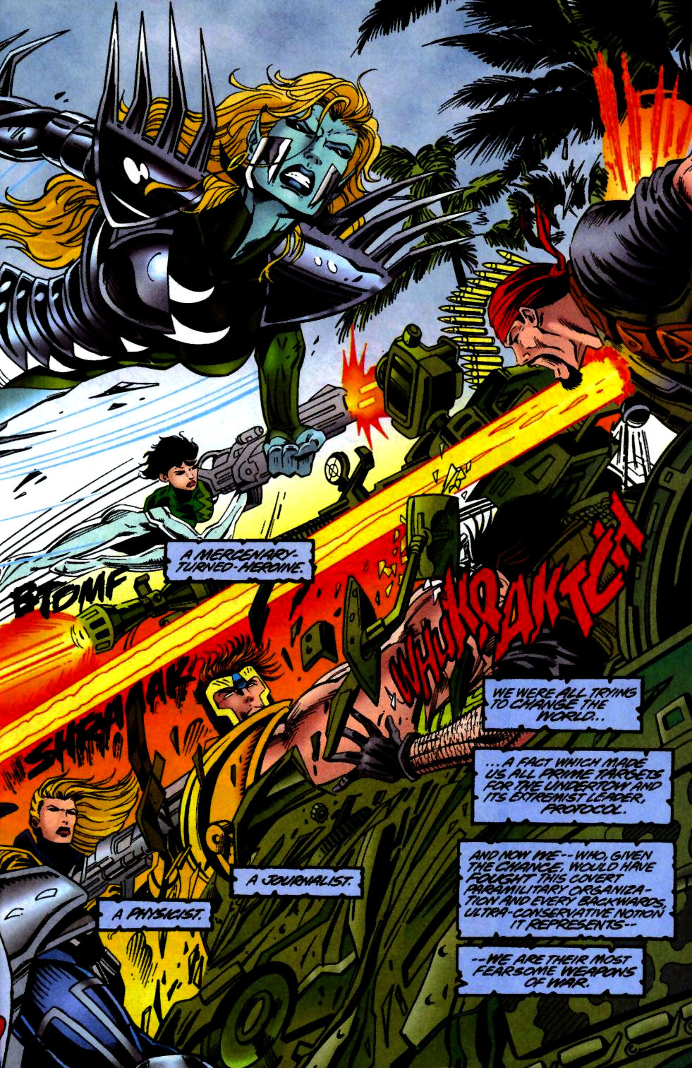 The New Warriors Issue #65 #69 - English 4