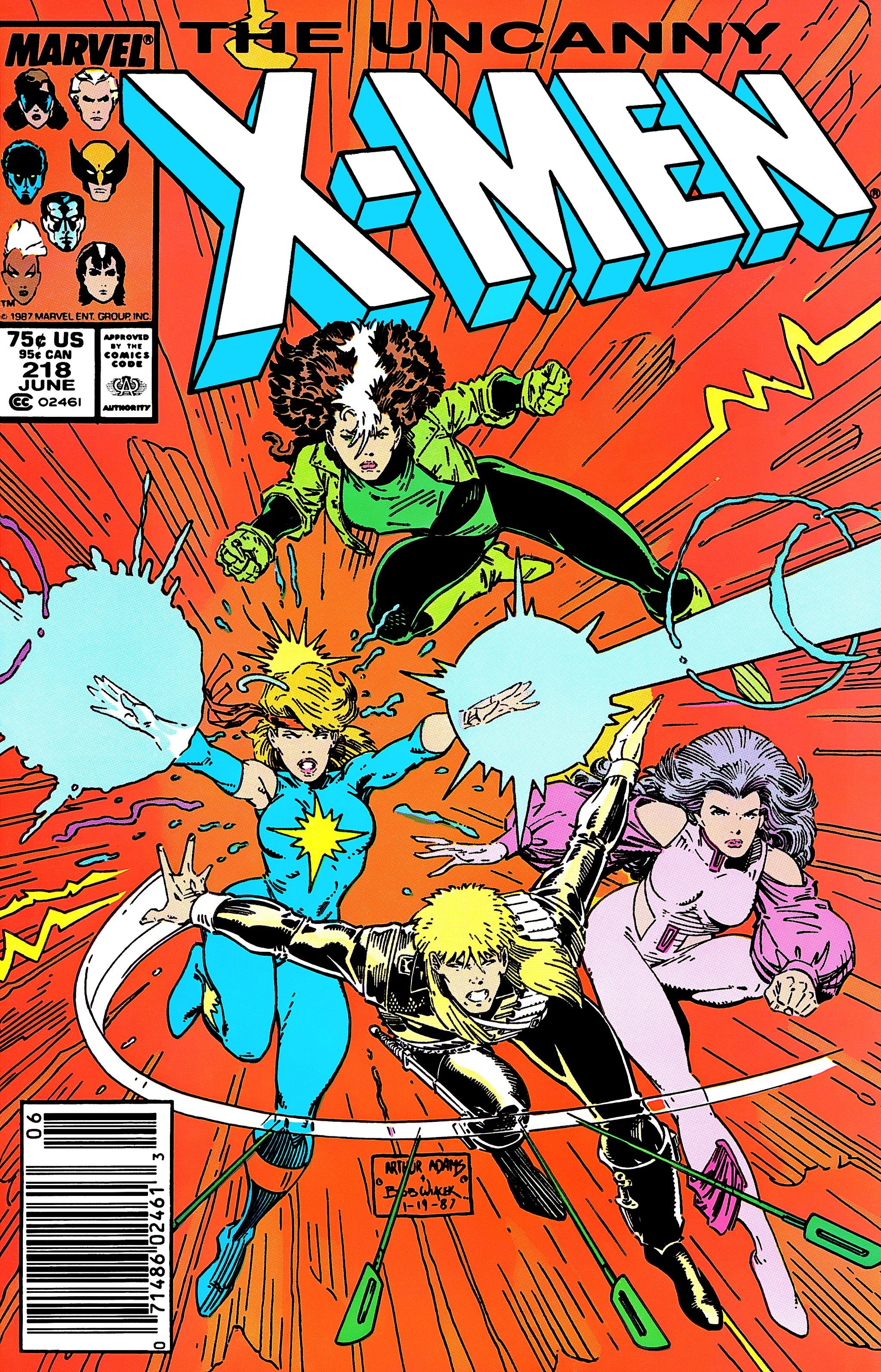 Read online Uncanny X-Men (1963) comic -  Issue #218 - 1