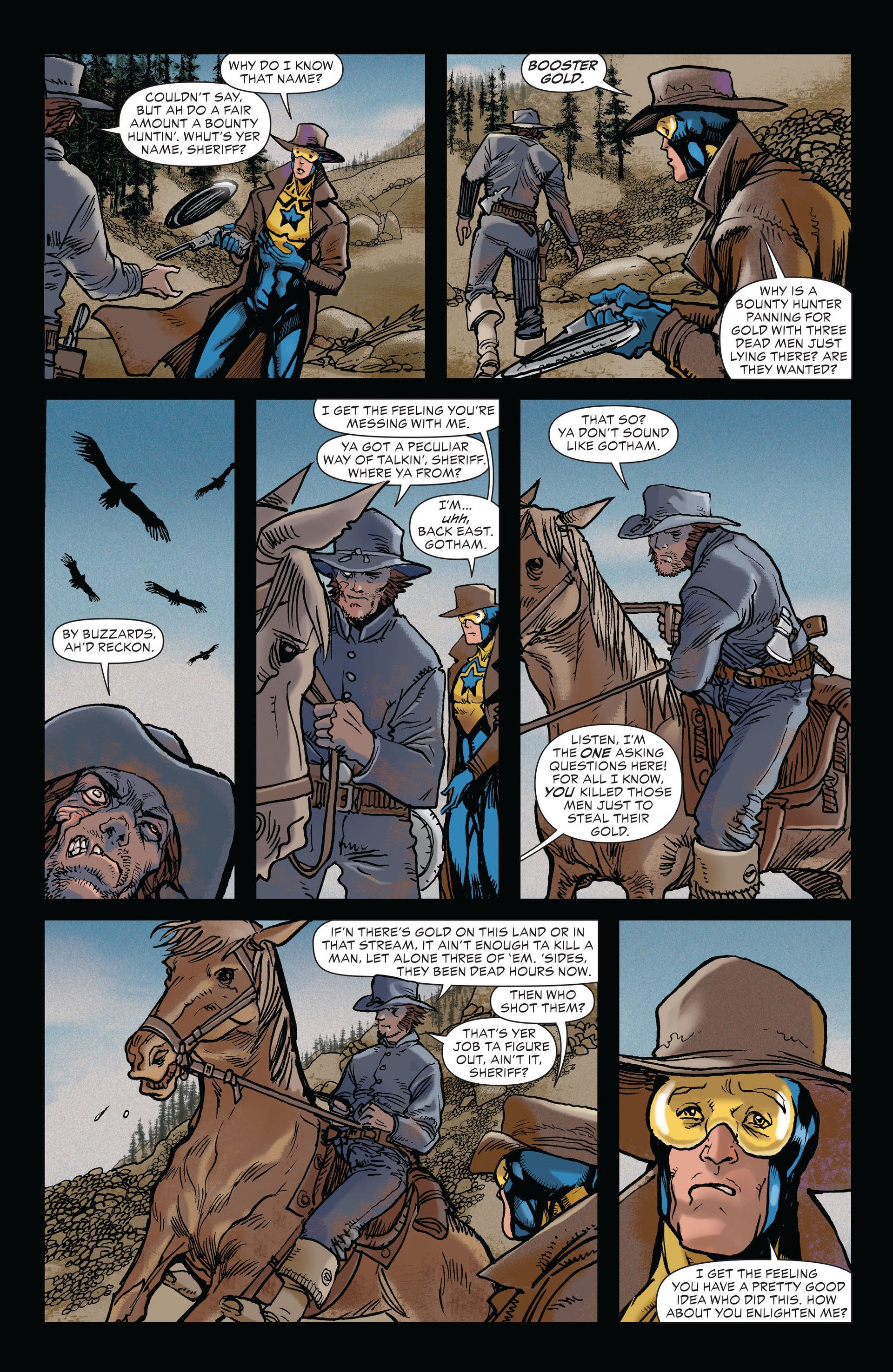 Read online All-Star Western (2011) comic -  Issue #19 - 5