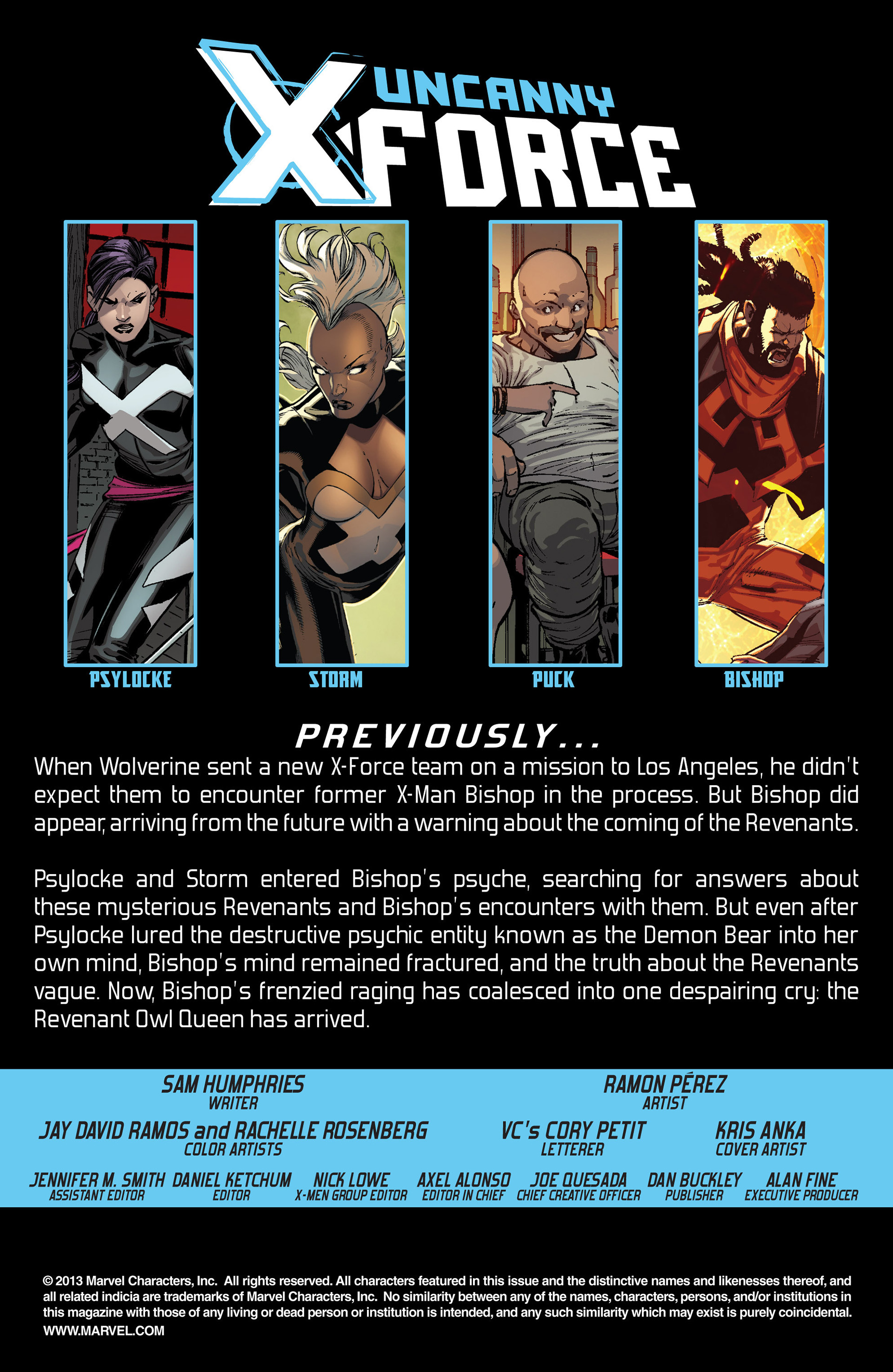 Read online Uncanny X-Force (2013) comic -  Issue #10 - 2