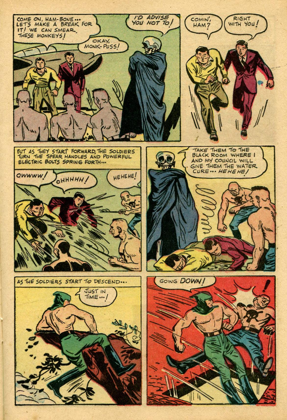 Read online Shadow Comics comic -  Issue #69 - 21