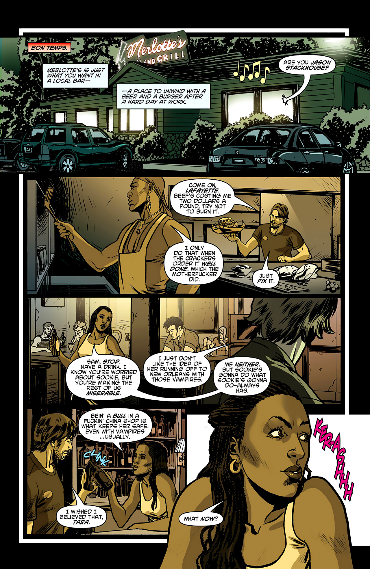 Read online True Blood: French Quarter comic -  Issue #1 - 13