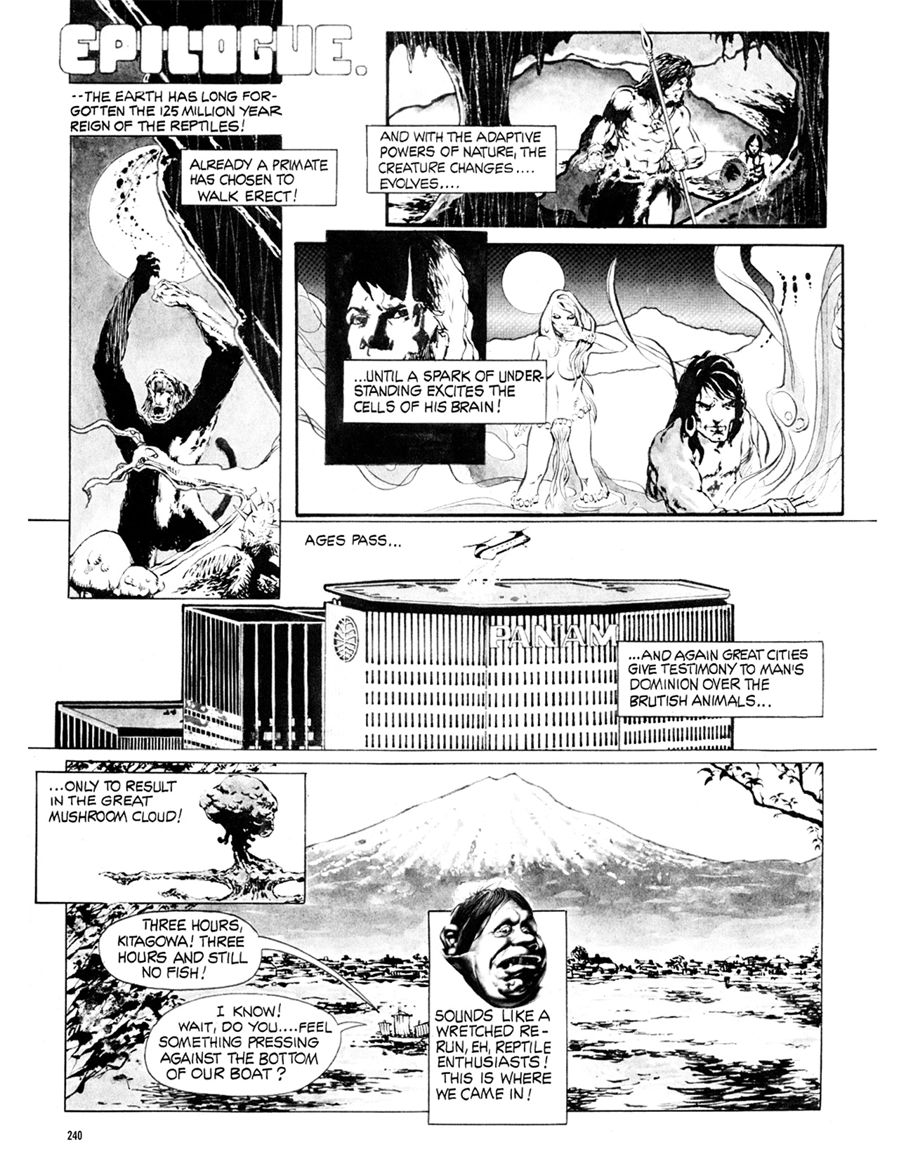 Read online Eerie Archives comic -  Issue # TPB 9 - 241