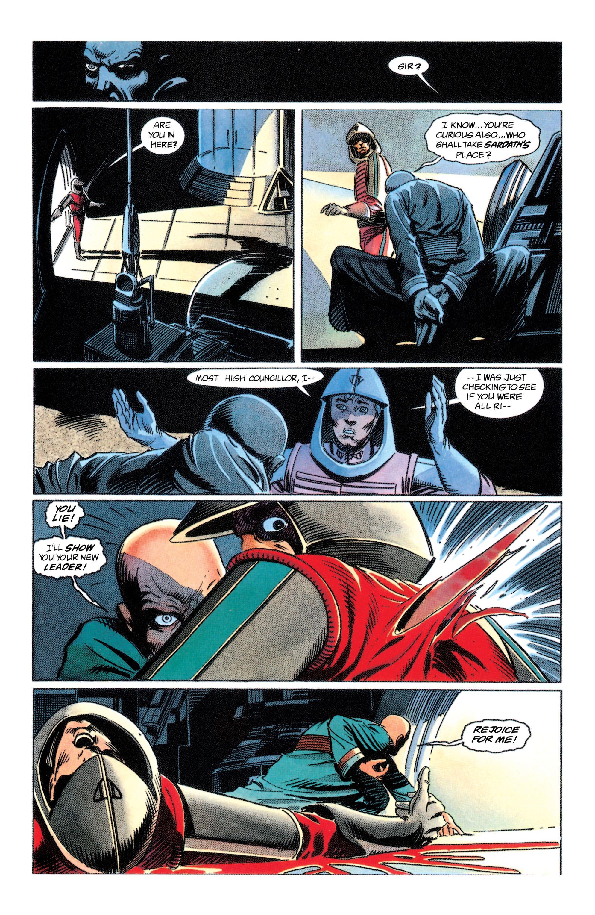 Read online Adam Strange (1990) comic -  Issue #2 - 34